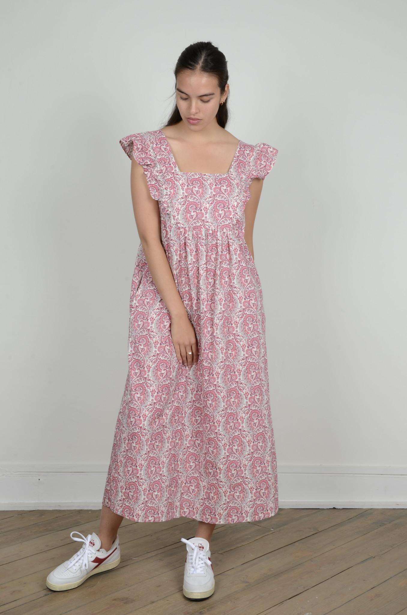 LAYLA PAISLEY DRESS-5