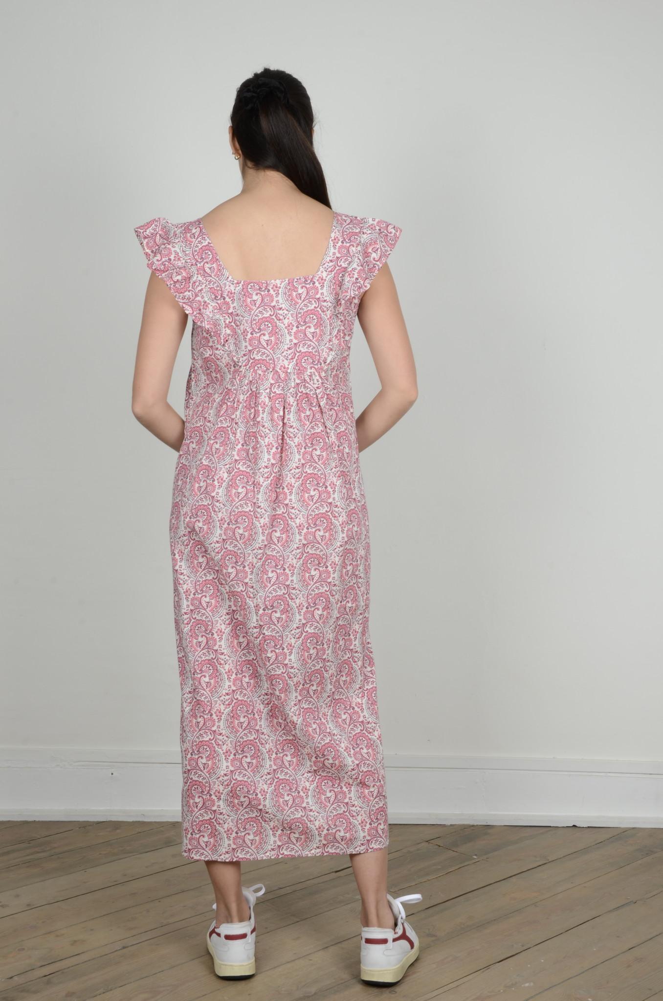 LAYLA PAISLEY DRESS-3