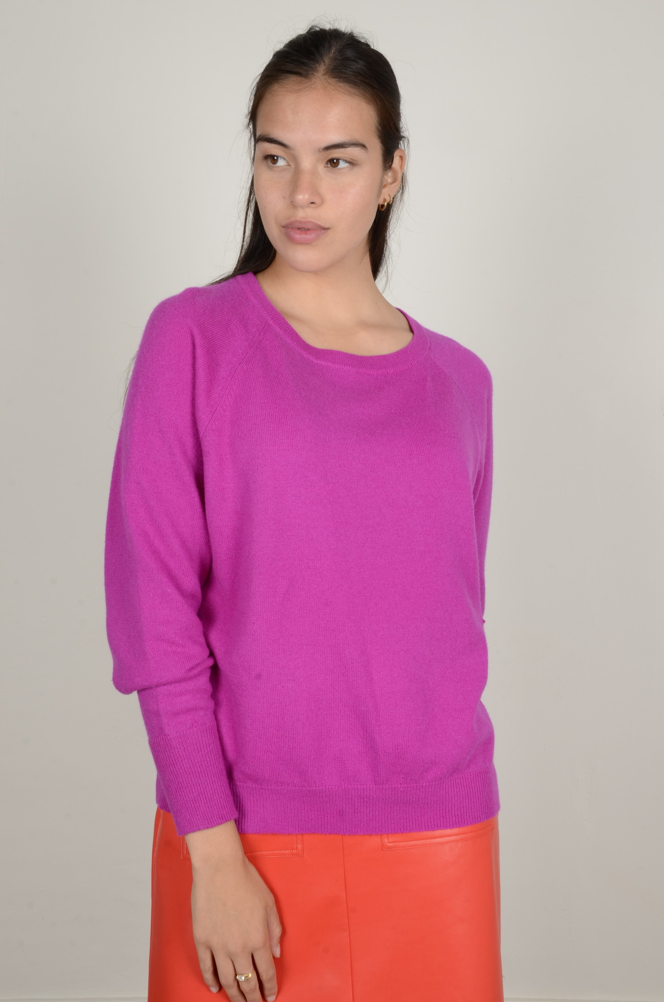 CAROLINA CASHMERE KNIT IN DAHLIA-1