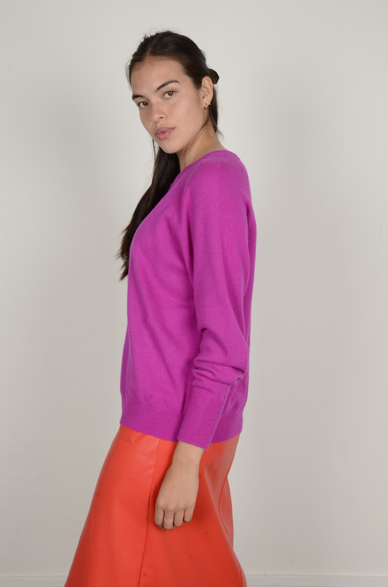CAROLINA CASHMERE KNIT IN DAHLIA-2