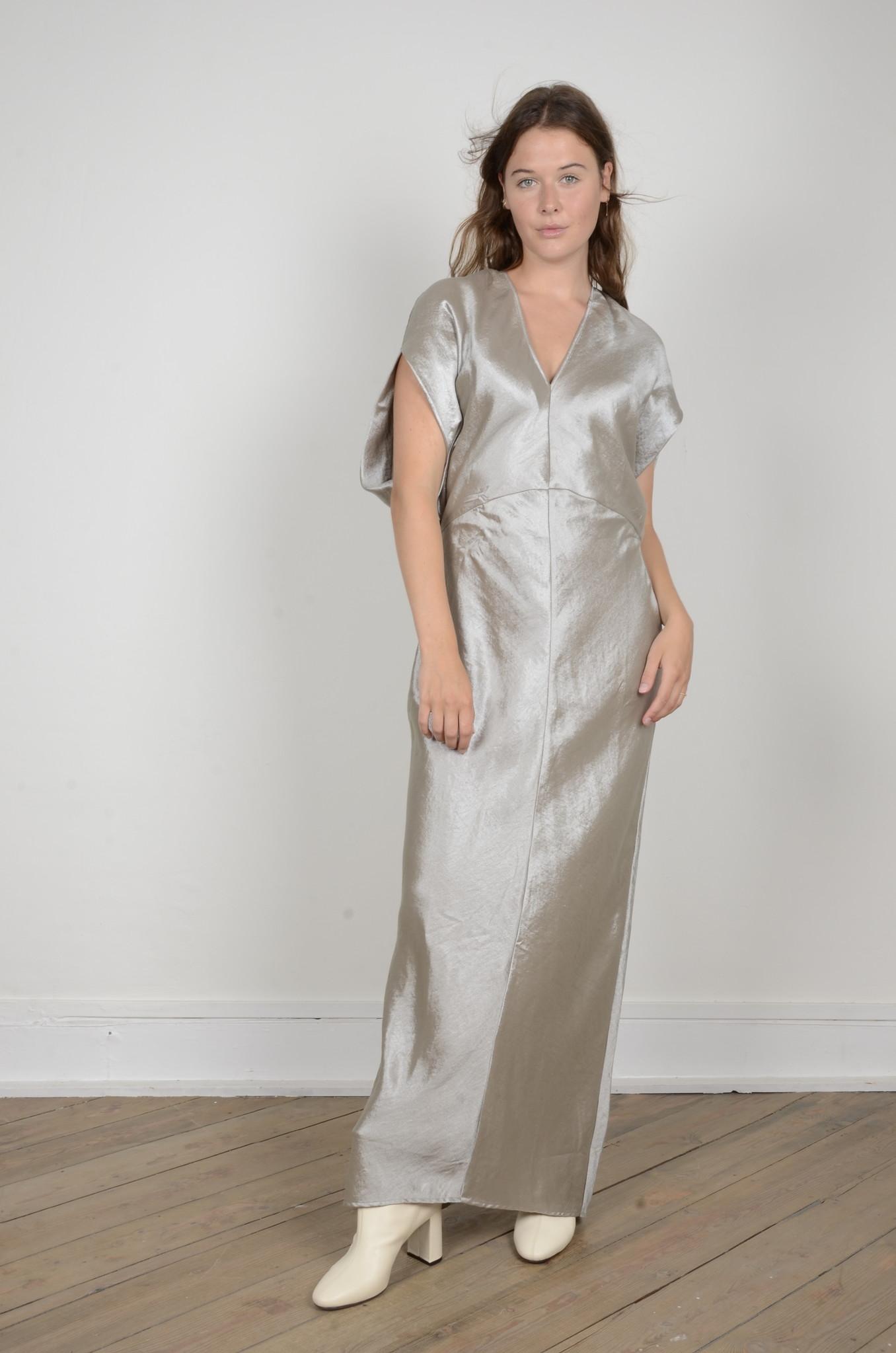 DIA METALLIC DRESS-1