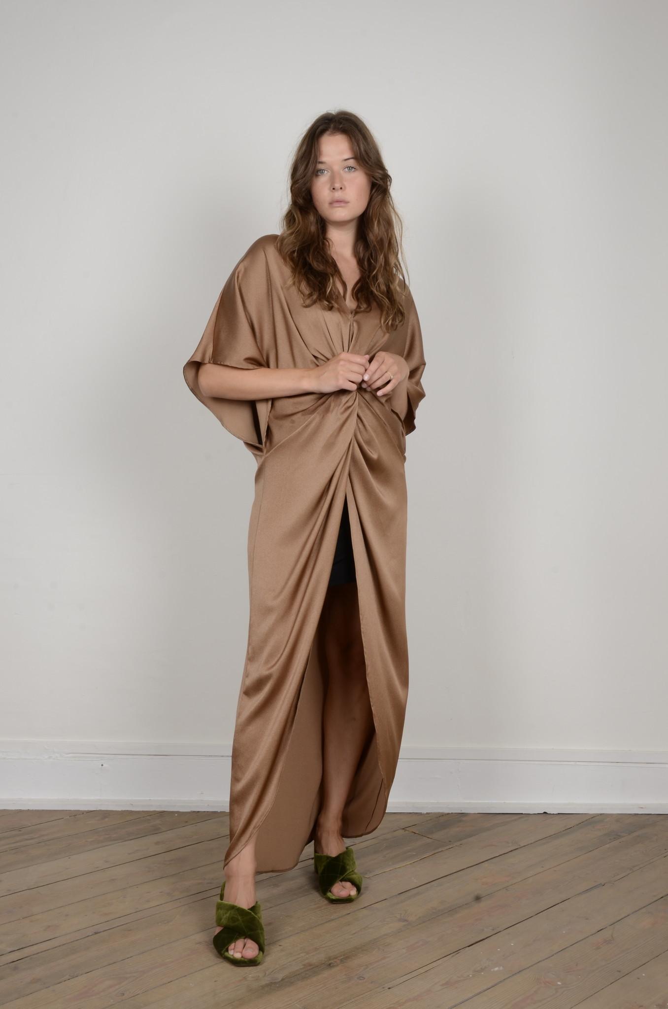 SATIN DRESS NUGGET-5