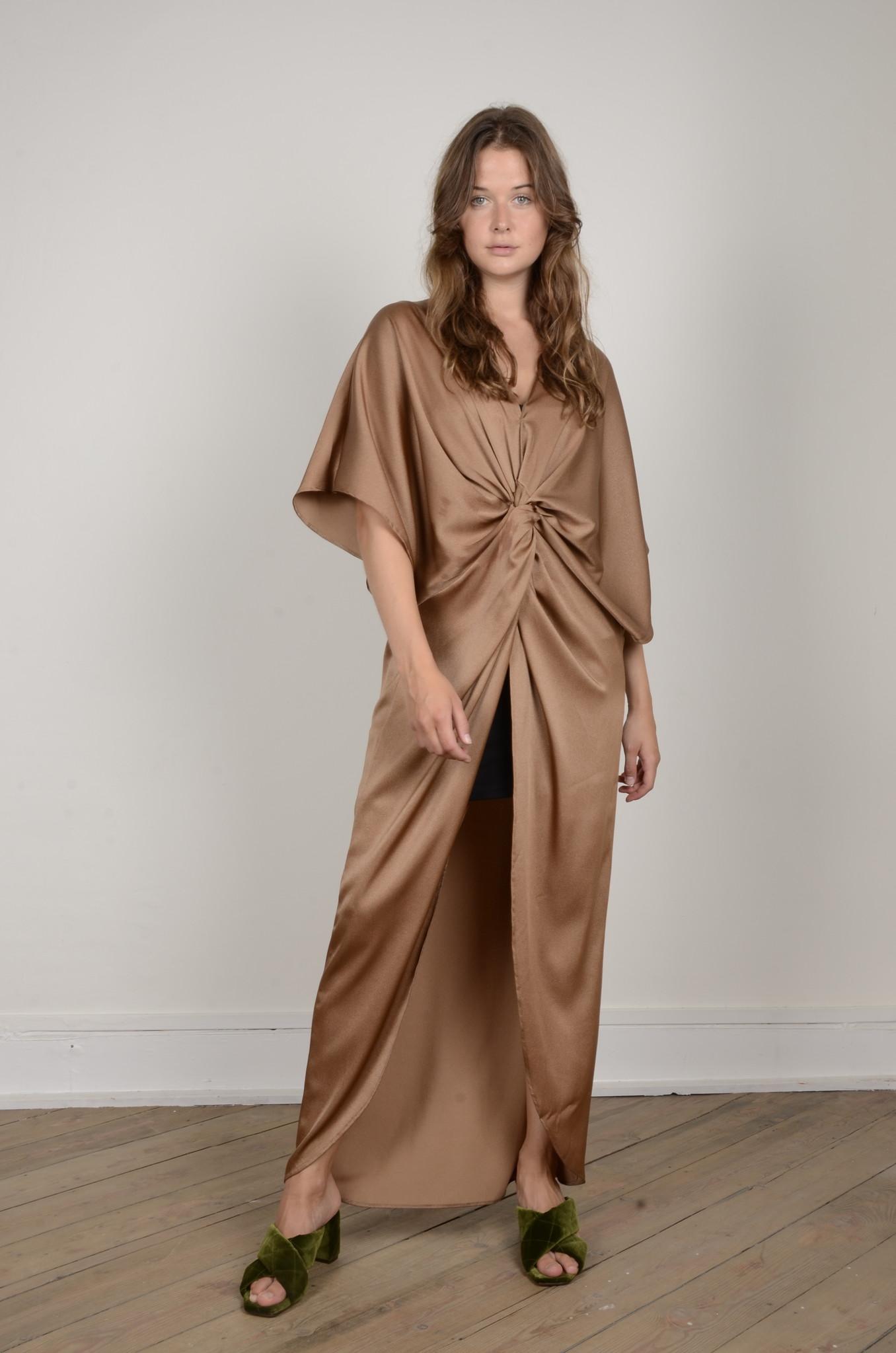 SATIN DRESS NUGGET-1