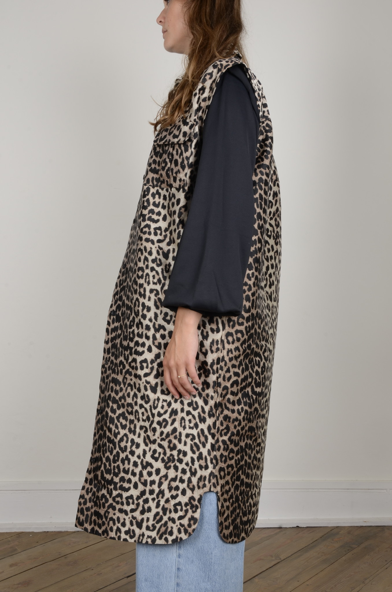 LEOPARD SHIRT DRESS-2