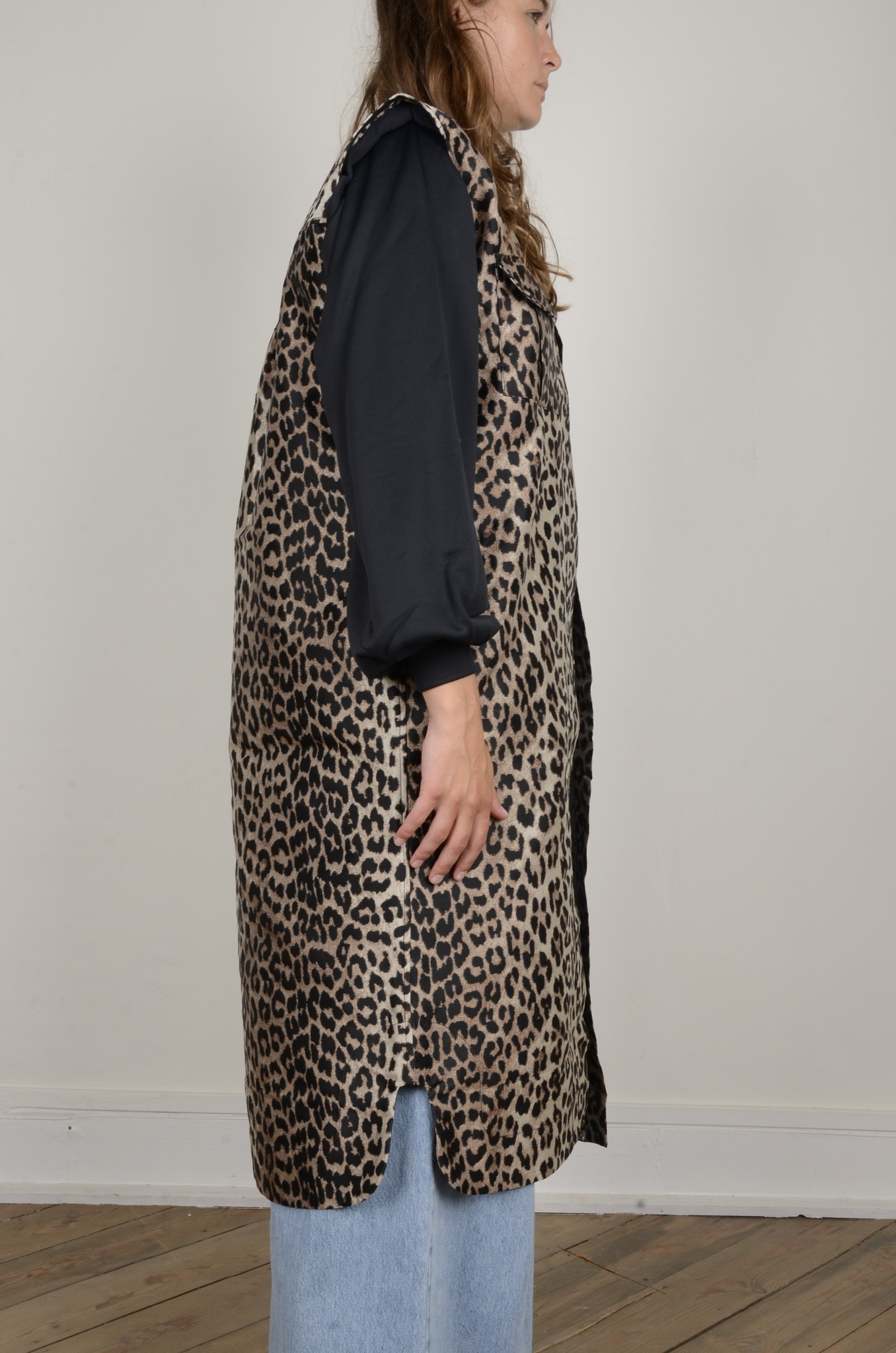 LEOPARD SHIRT DRESS-4