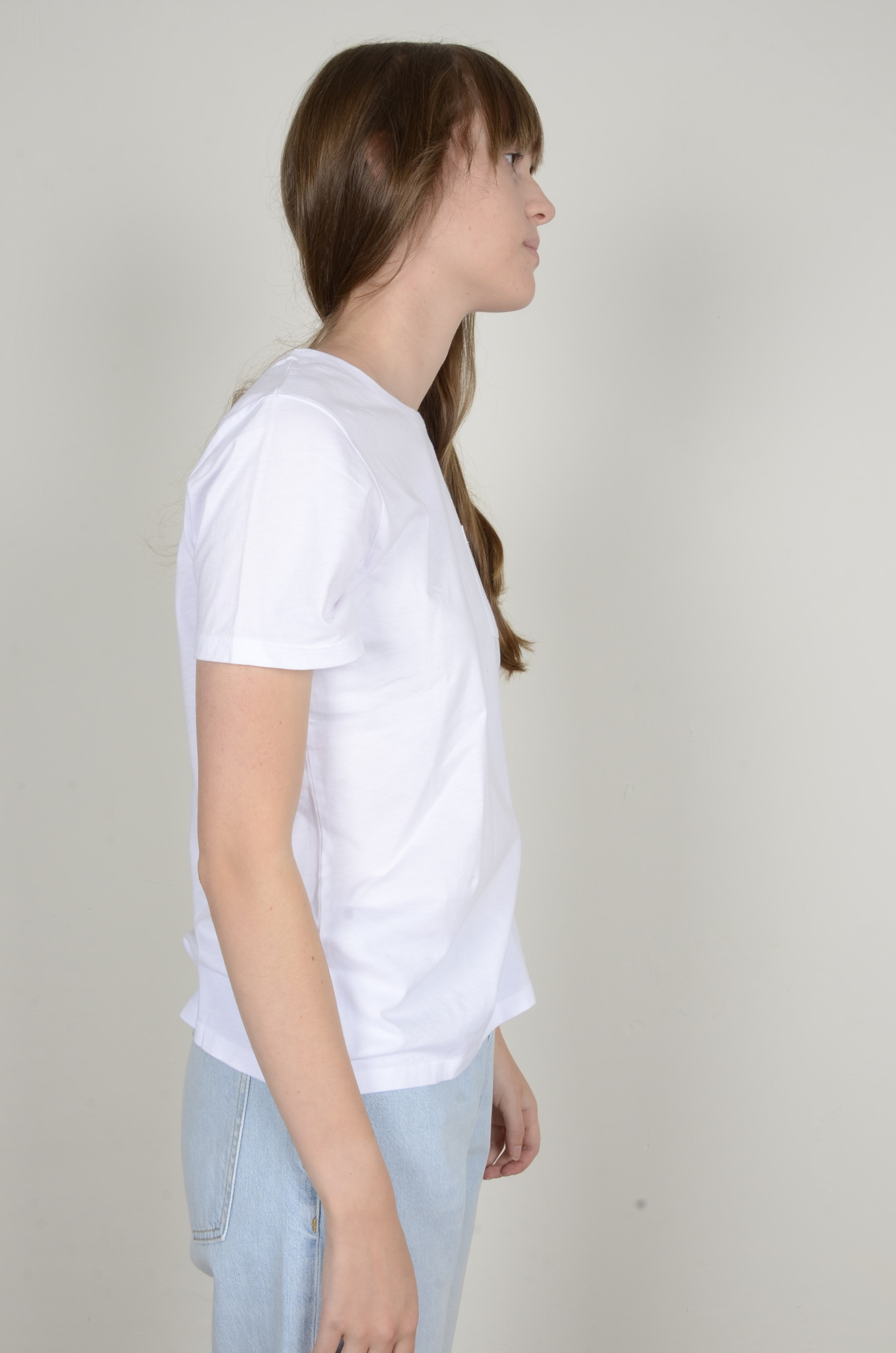 BASIC POCKET TEE WHITE-4
