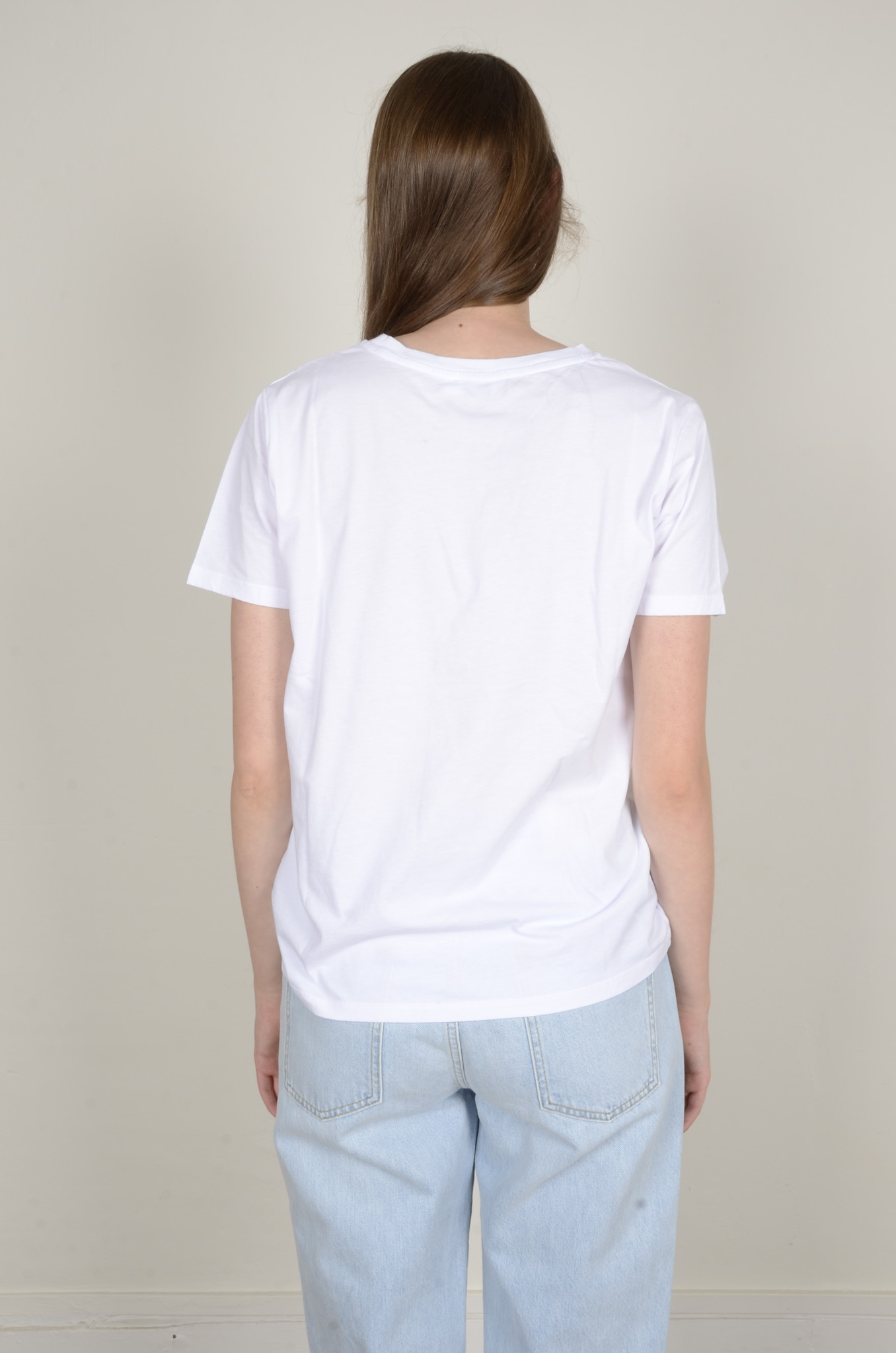 BASIC POCKET TEE WHITE-3