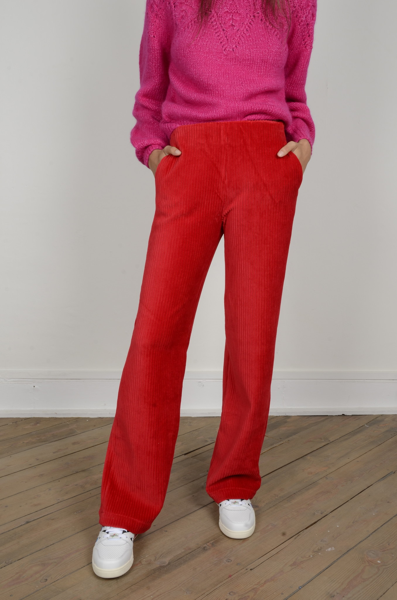 MARINE PANTS RED-5