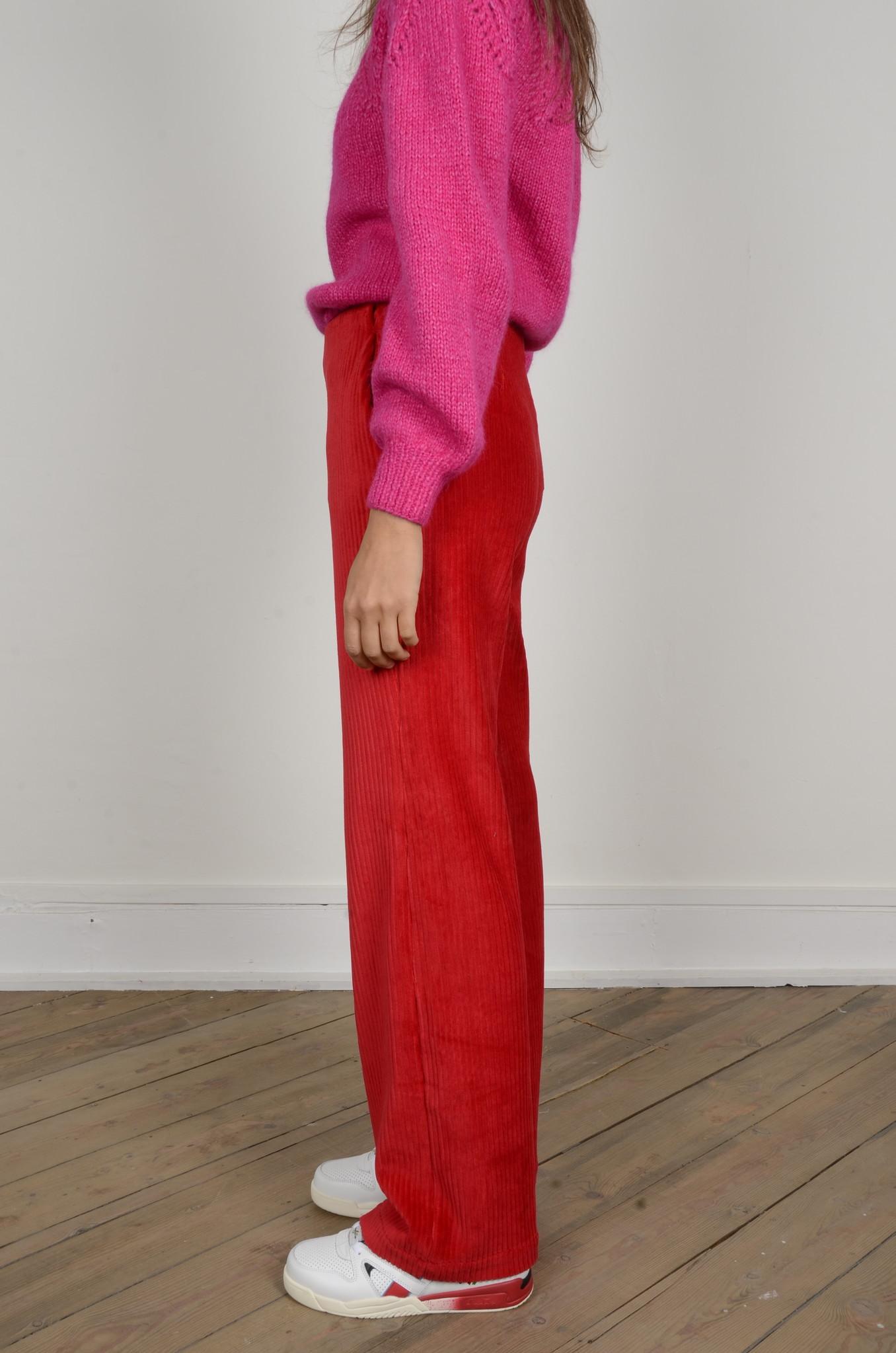 MARINE PANTS RED-2