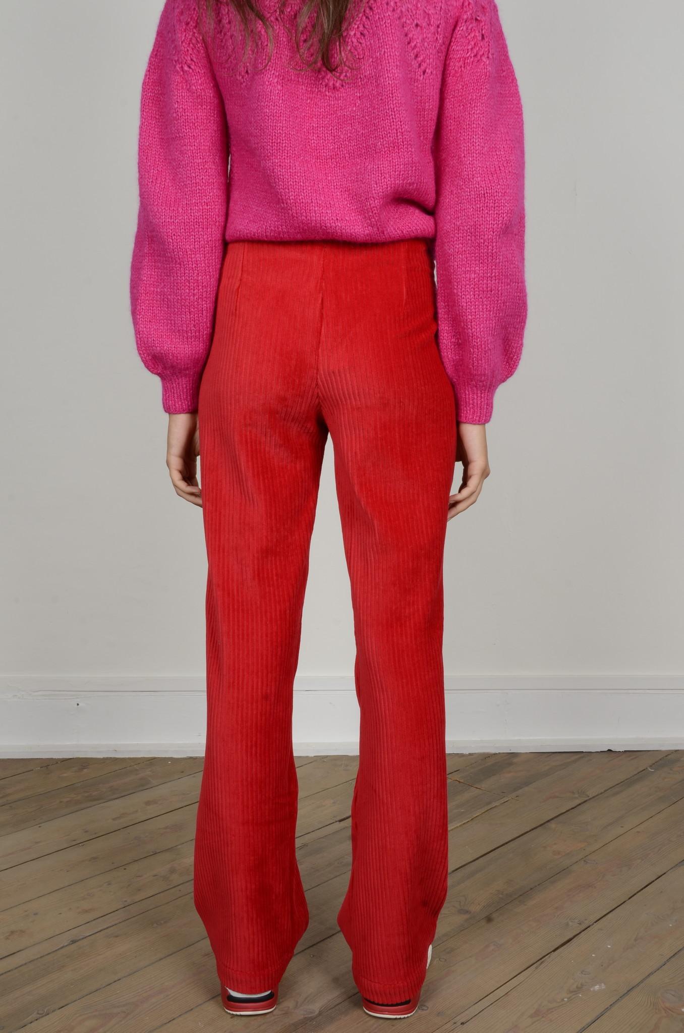 MARINE PANTS RED-3
