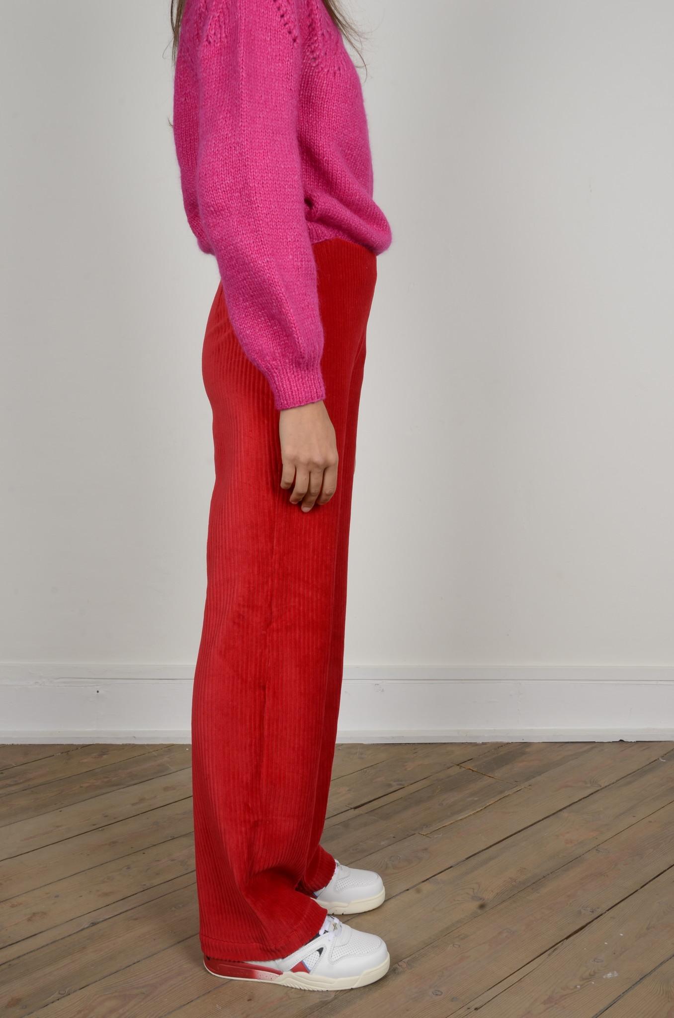 MARINE PANTS RED-4