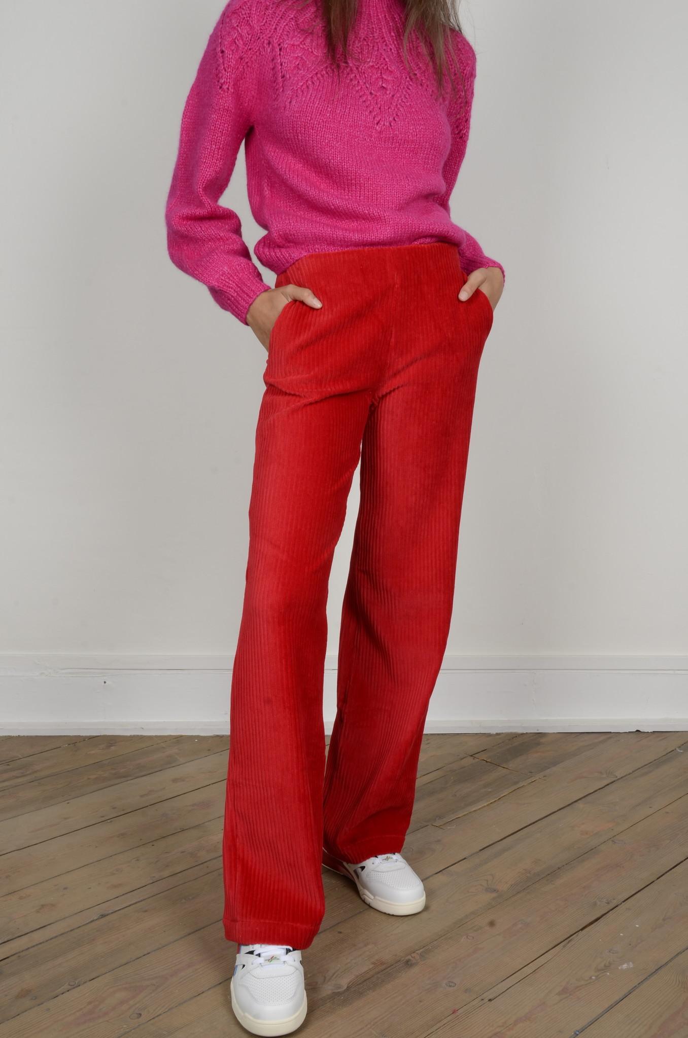 MARINE PANTS RED-1