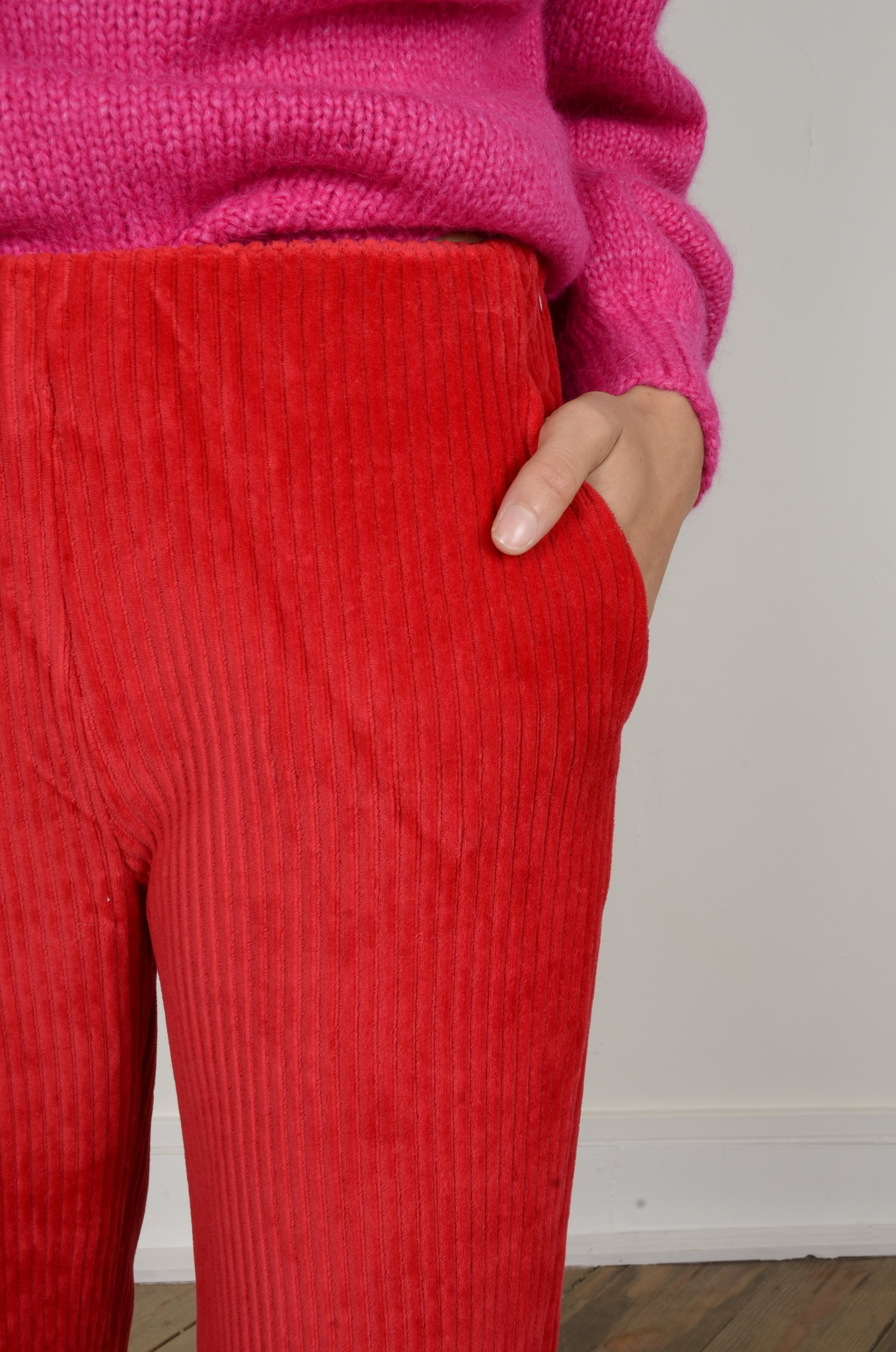 MARINE PANTS RED-6