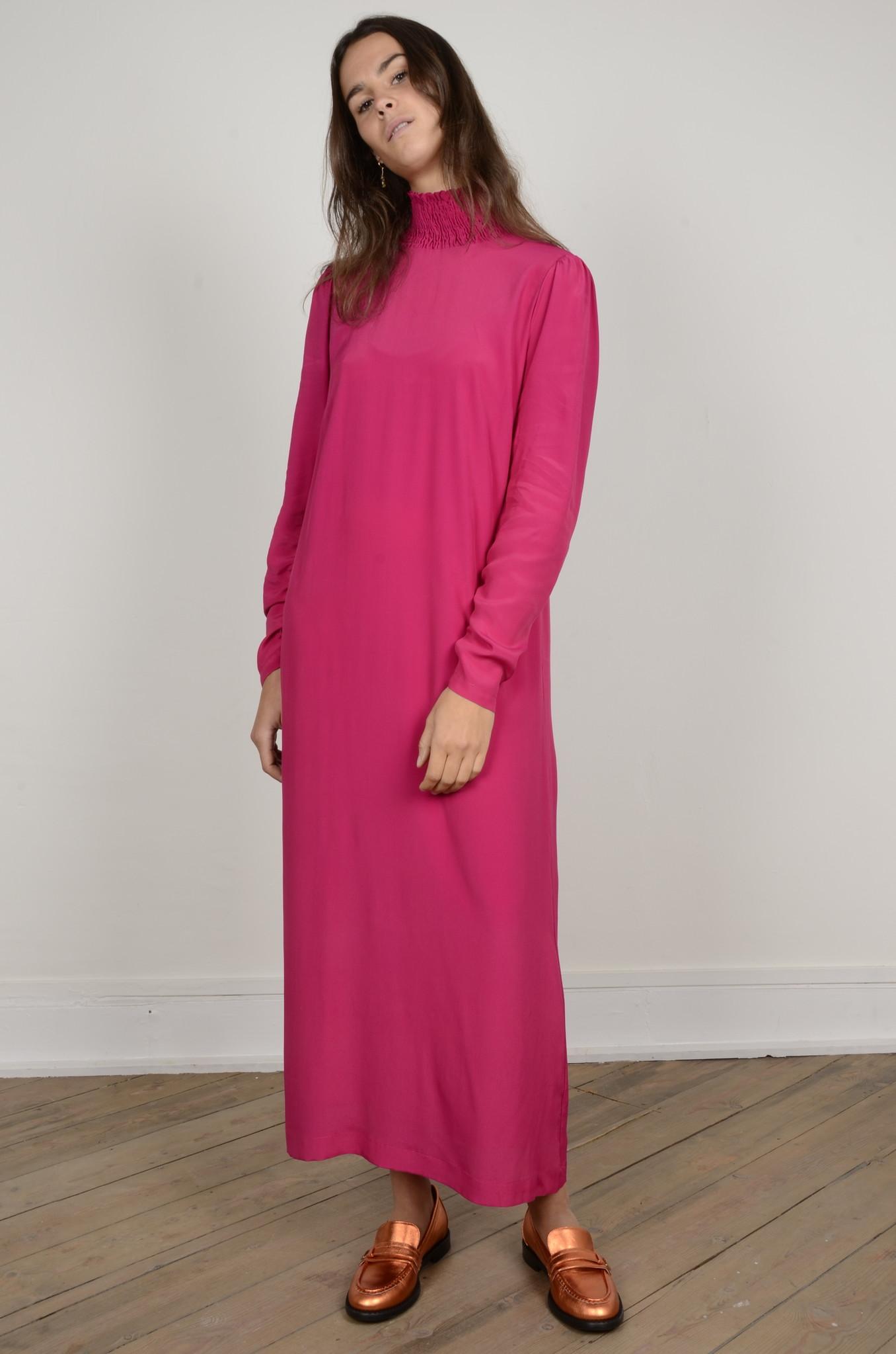 TURTLENECK LONG DRESS-8
