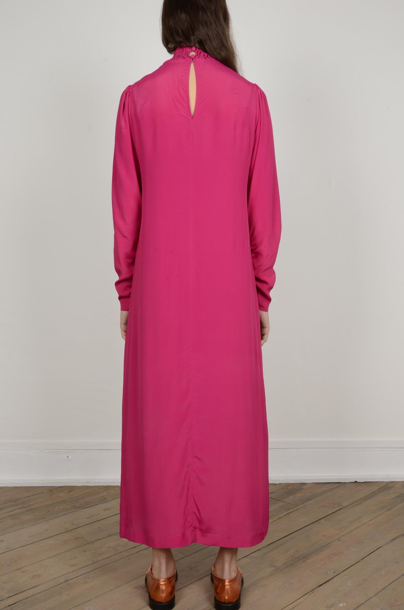 TURTLENECK LONG DRESS-3