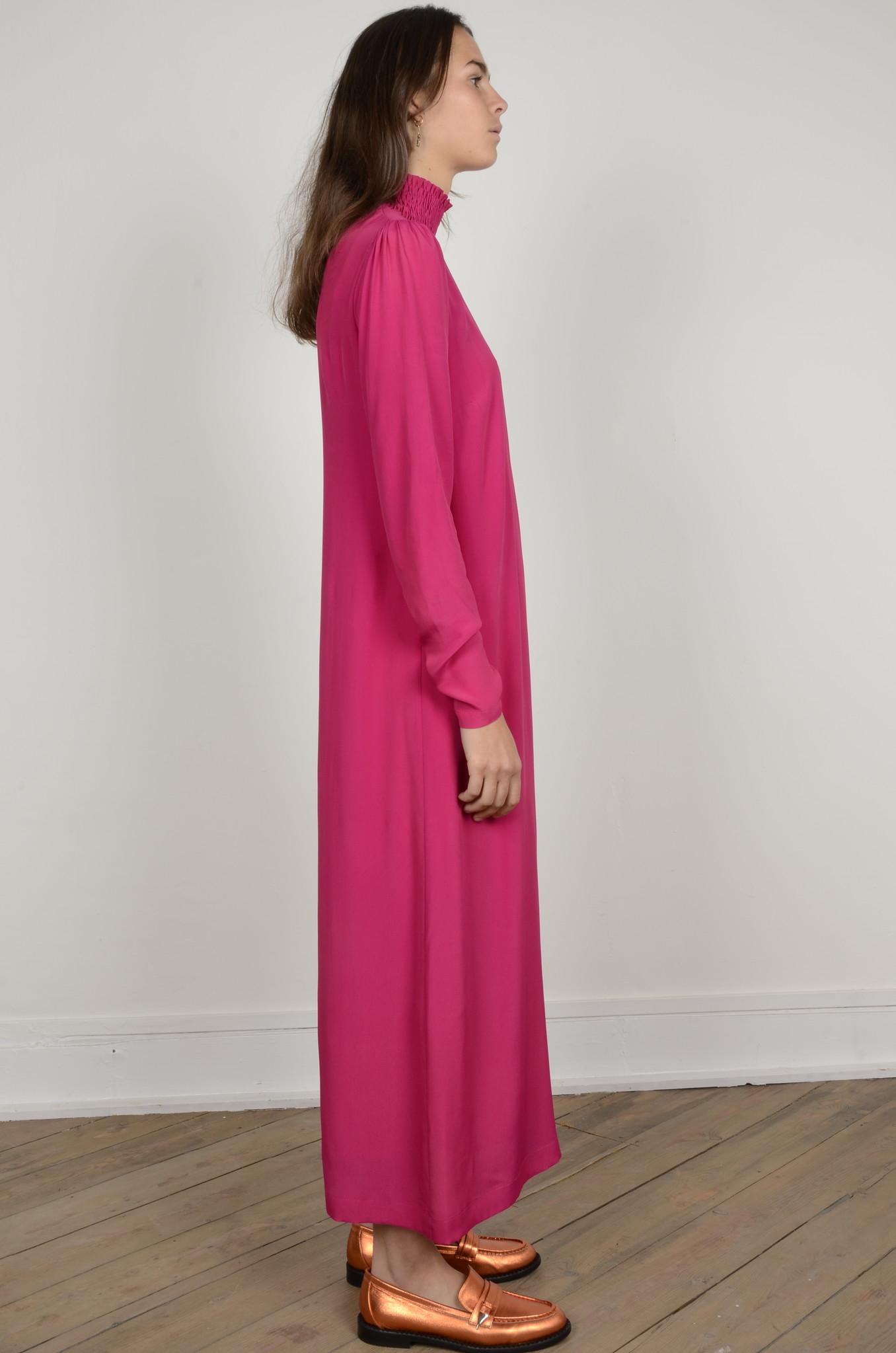 TURTLENECK LONG DRESS-4