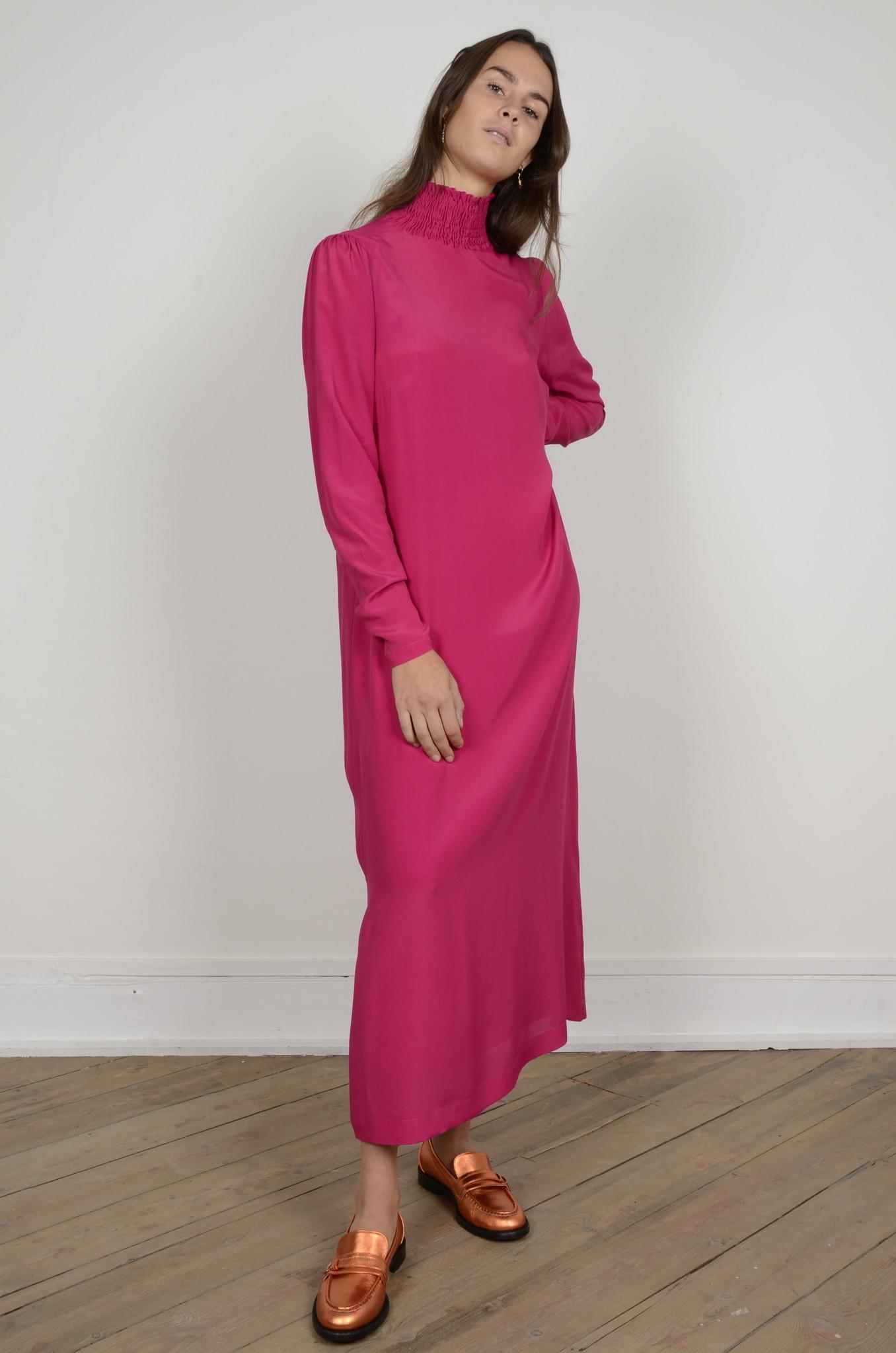 TURTLENECK LONG DRESS-1