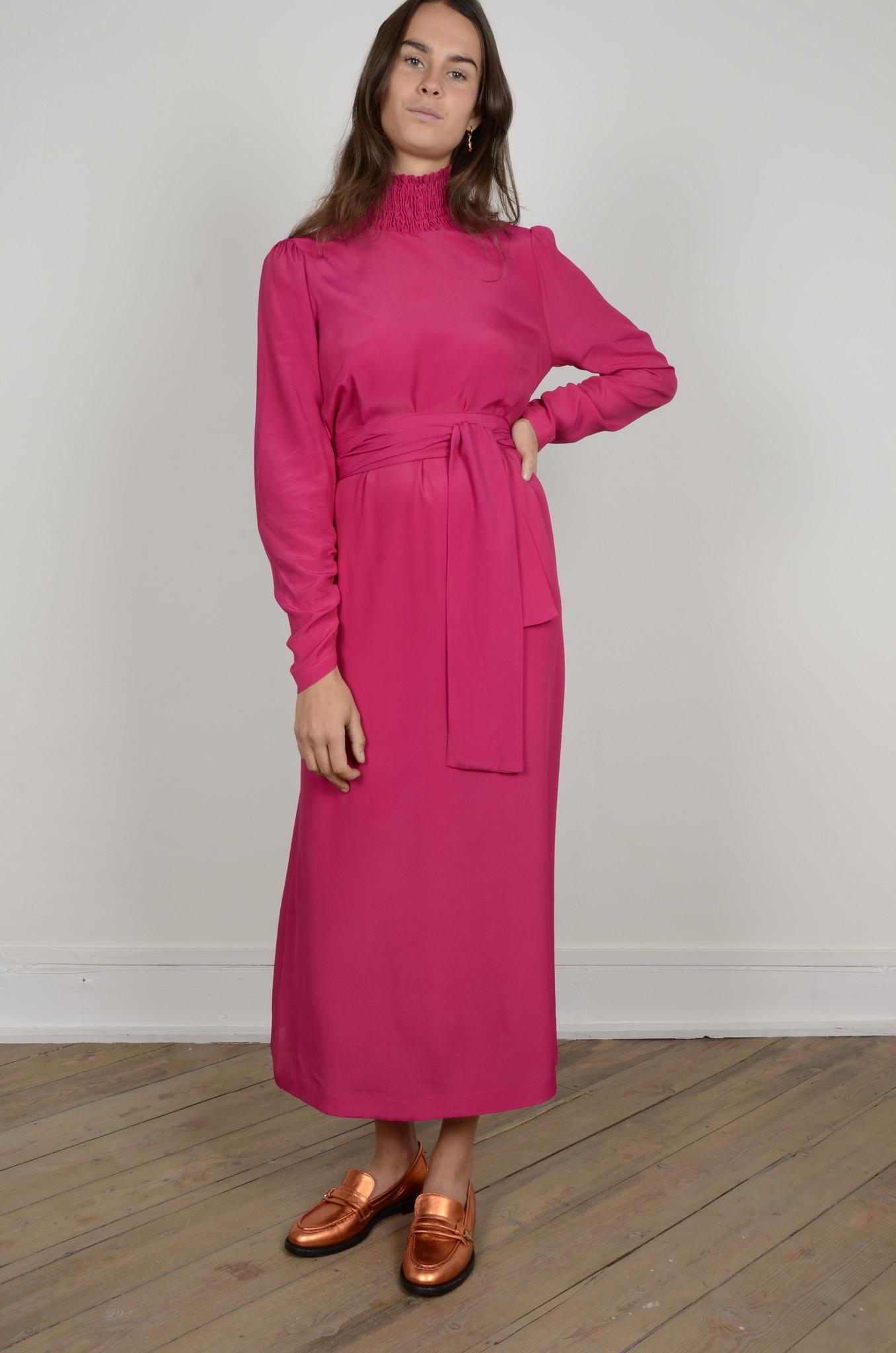 TURTLENECK LONG DRESS-6