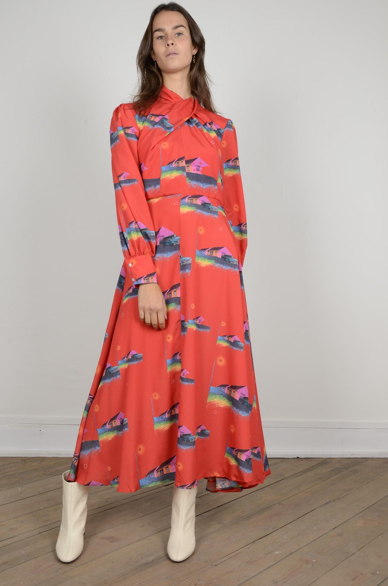 PRINTED DRESS-1