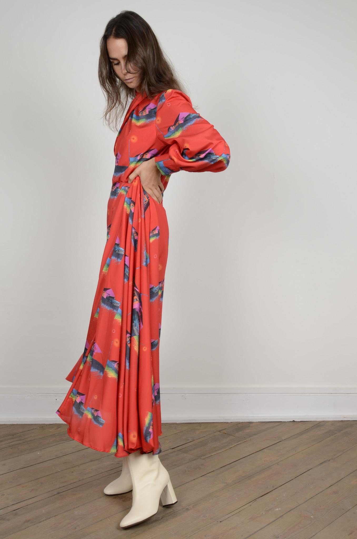 PRINTED DRESS-2