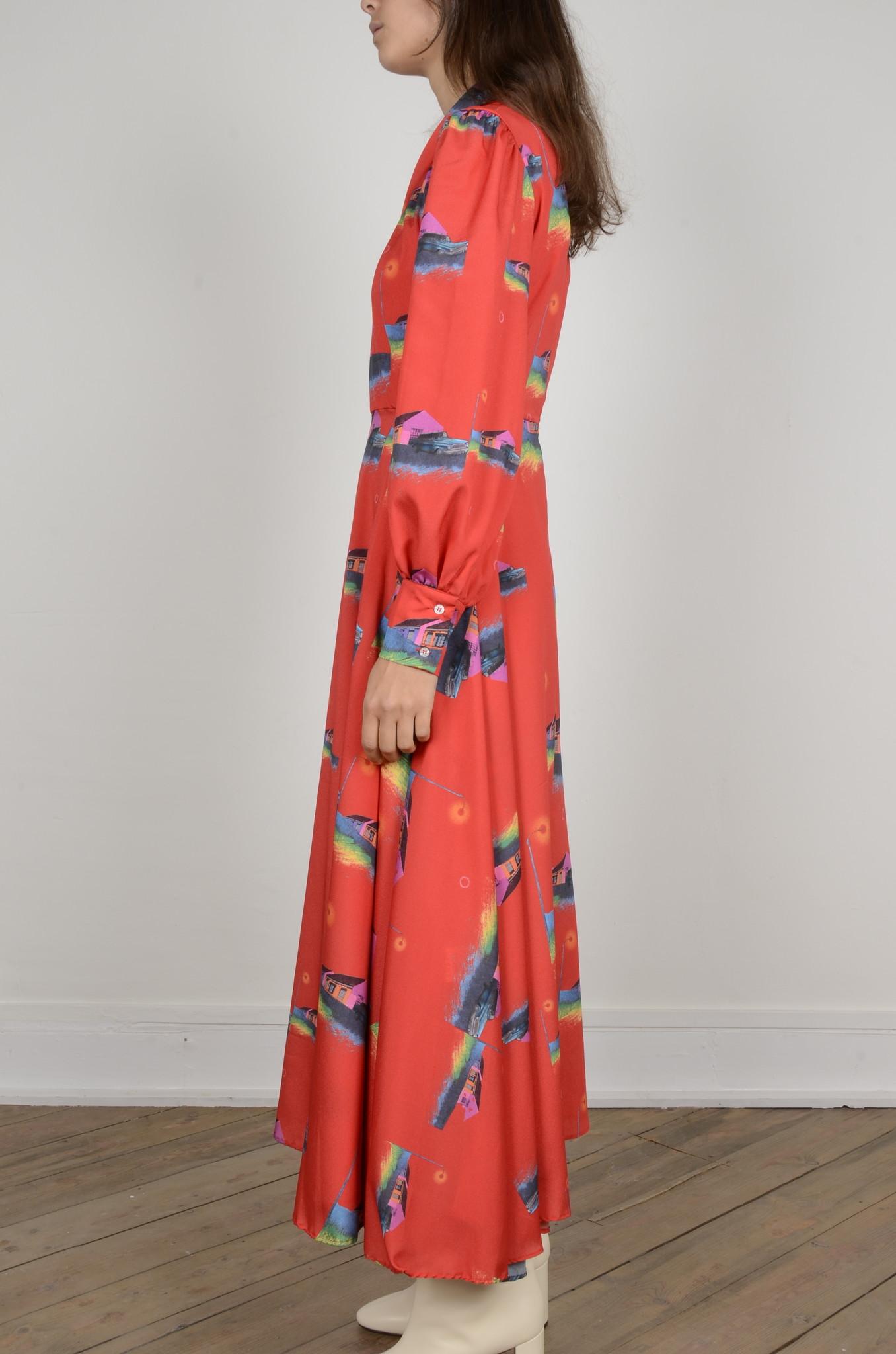 PRINTED DRESS-3