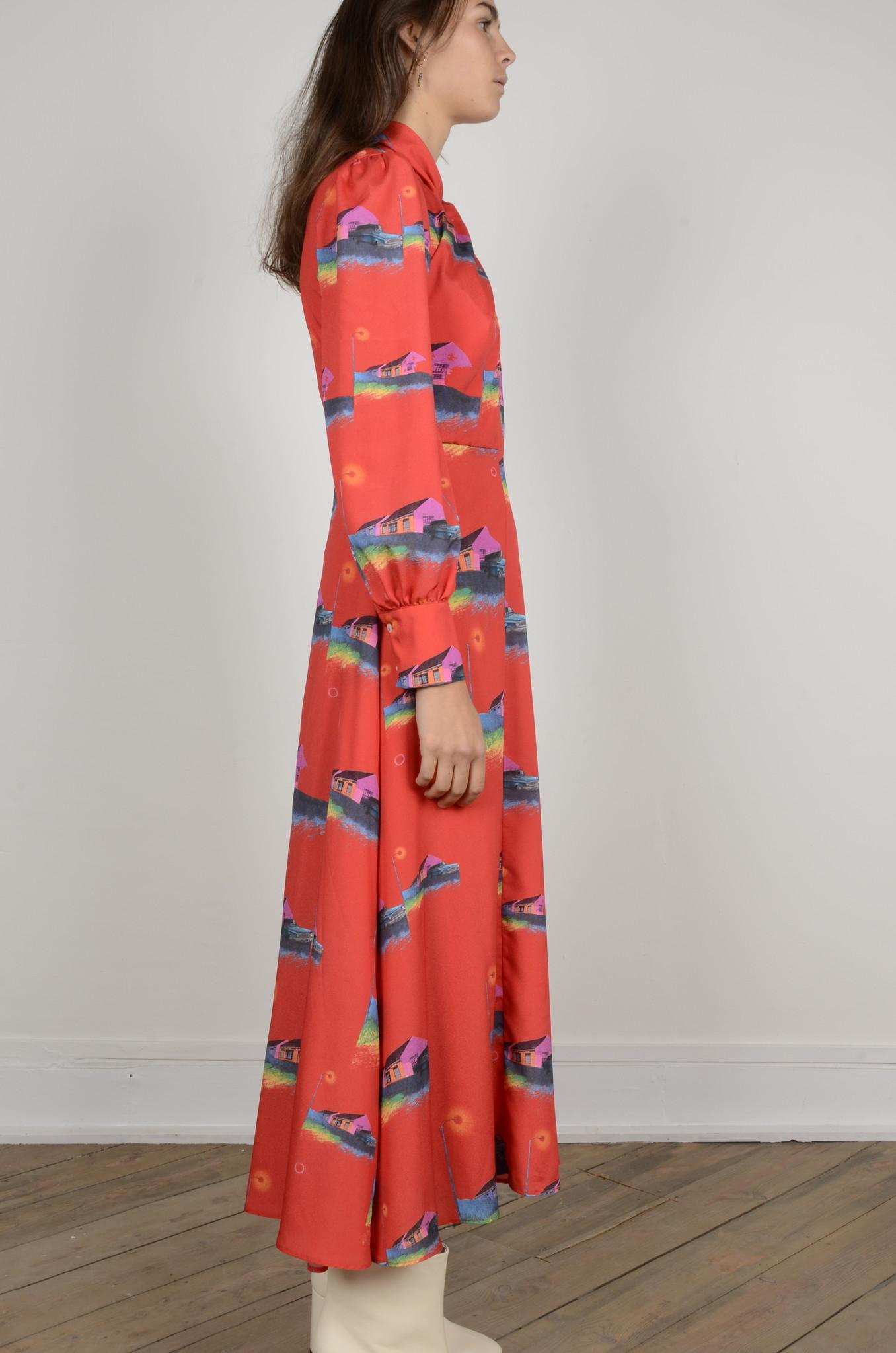 PRINTED DRESS-5