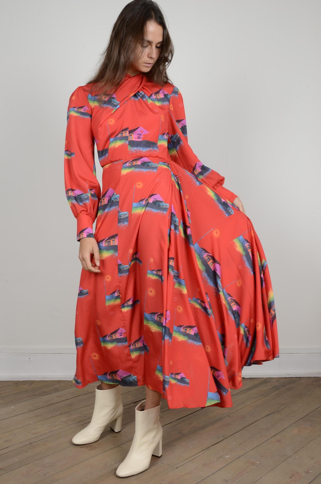 PRINTED DRESS-7