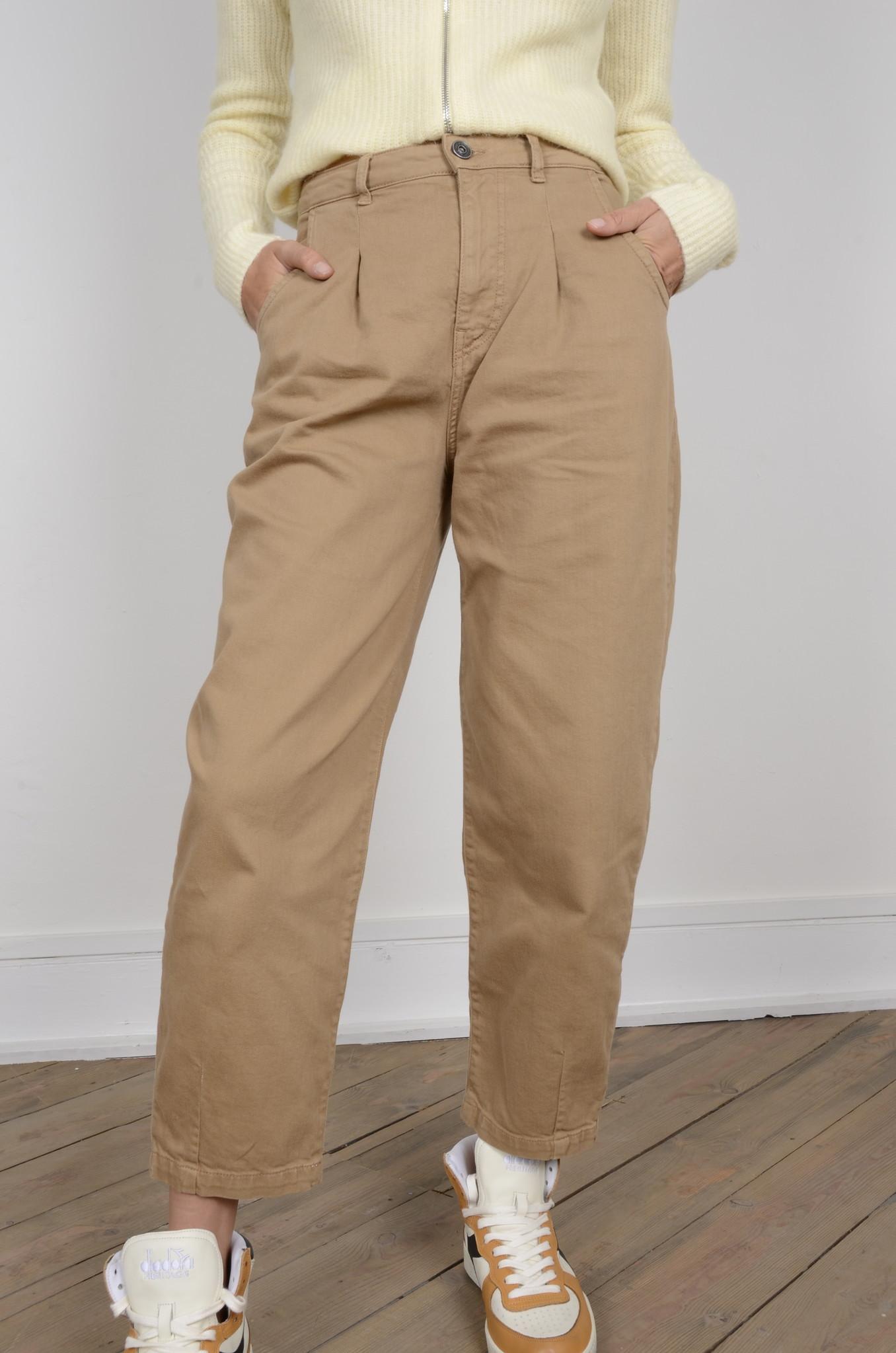 COTTON BALLOON PANTS-6
