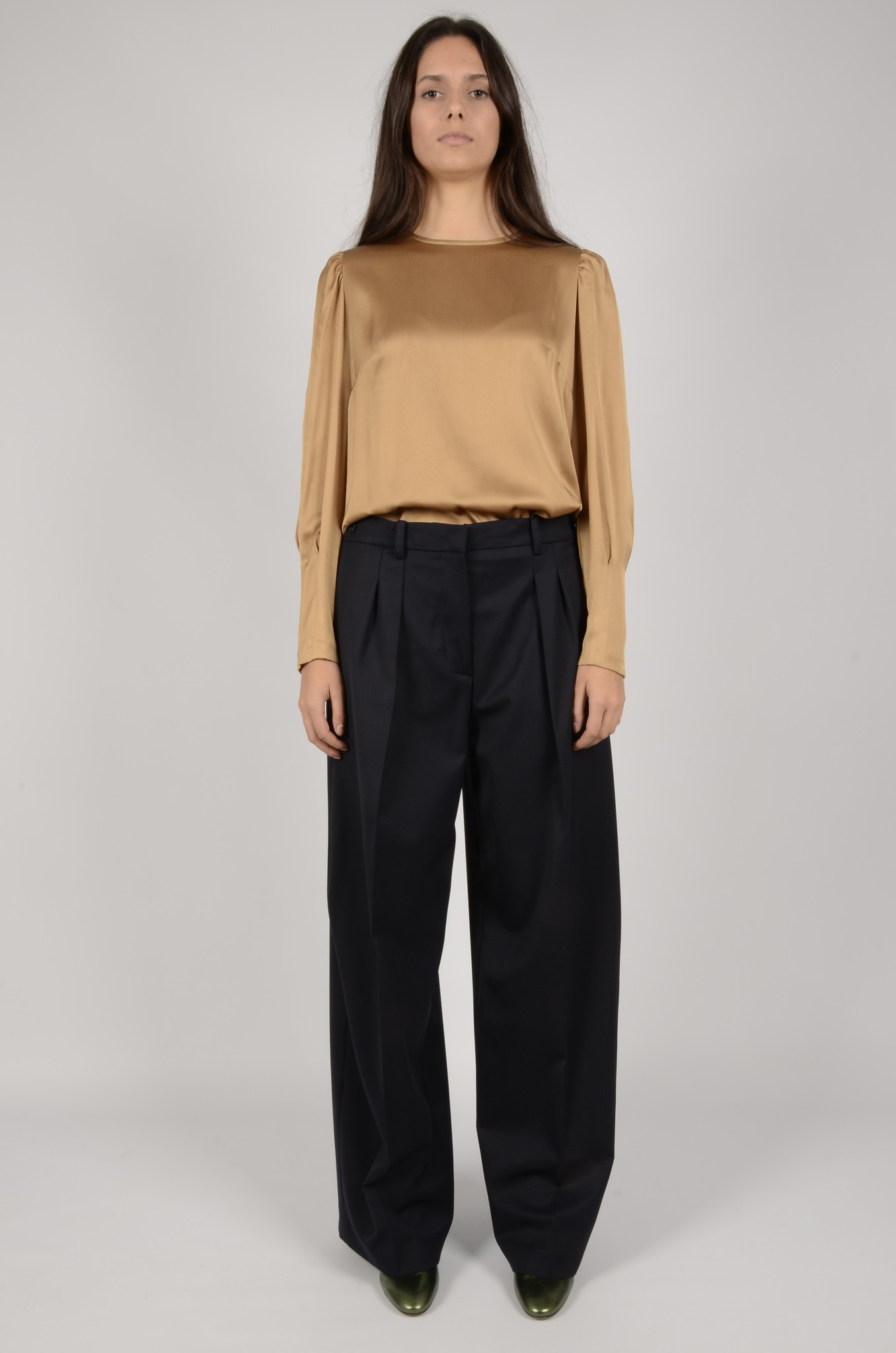 WIDE PLEATED TROUSERS-5