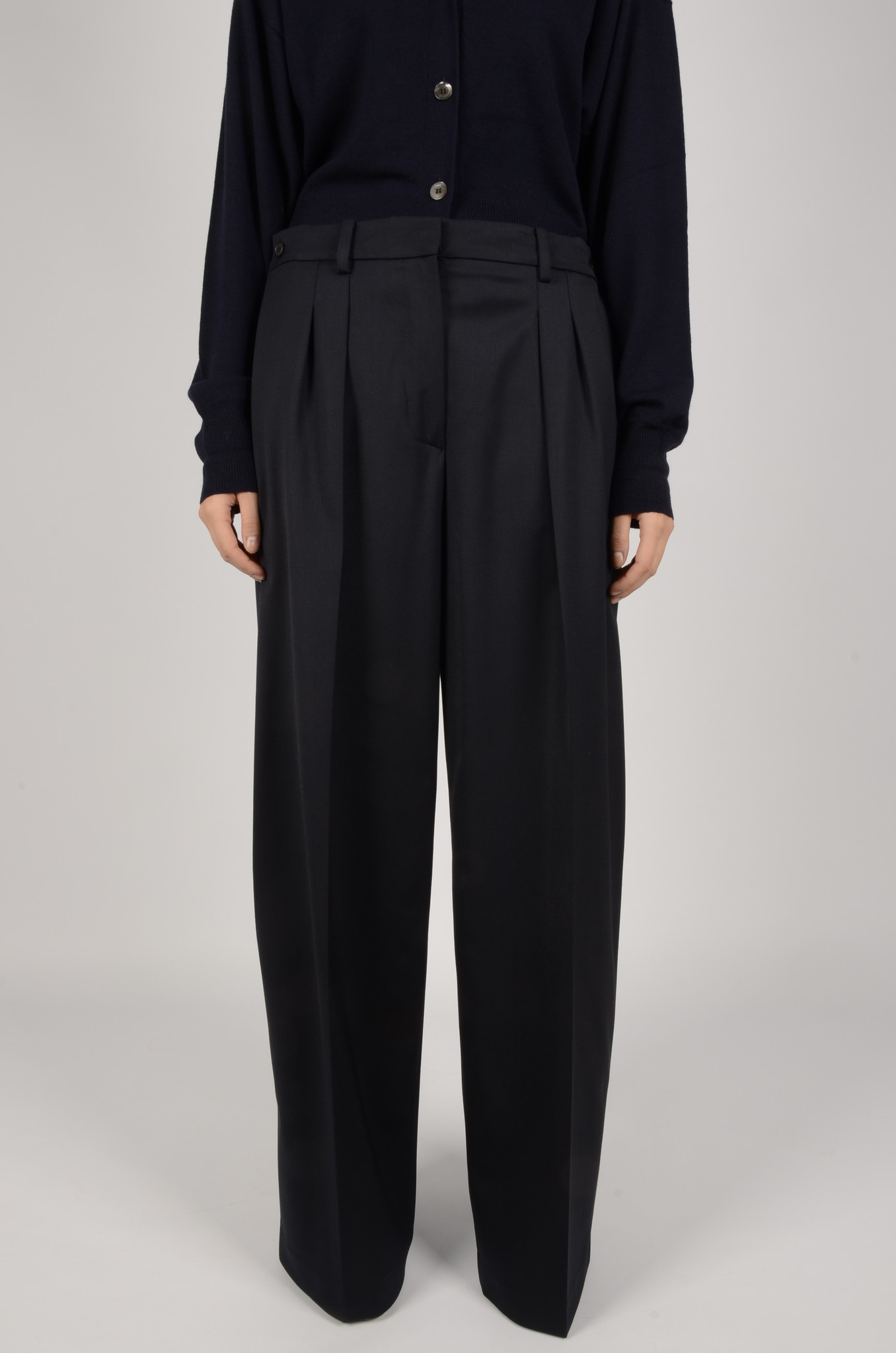 WIDE PLEATED TROUSERS-1