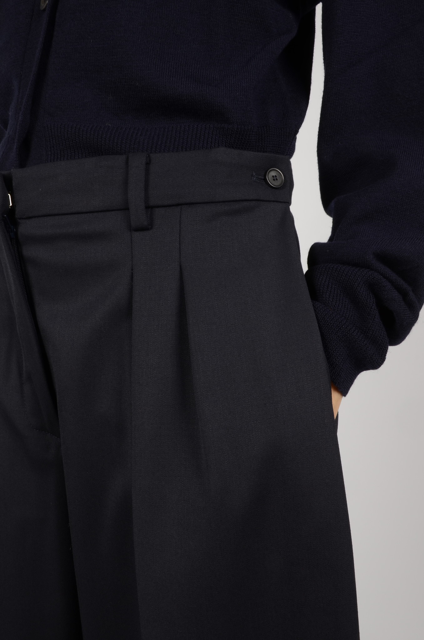 WIDE PLEATED TROUSERS-4