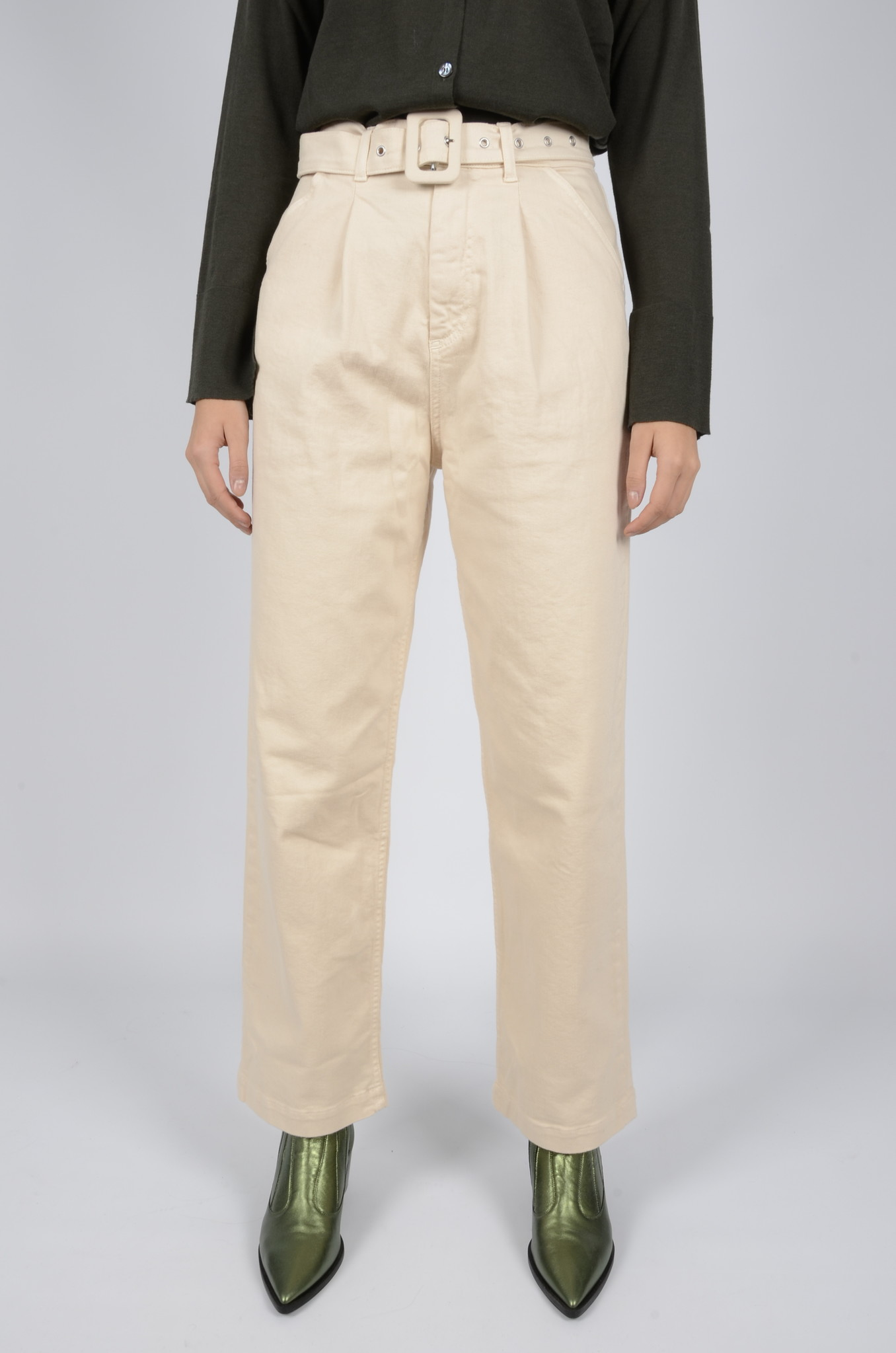 PLEATED TROUSERS-1