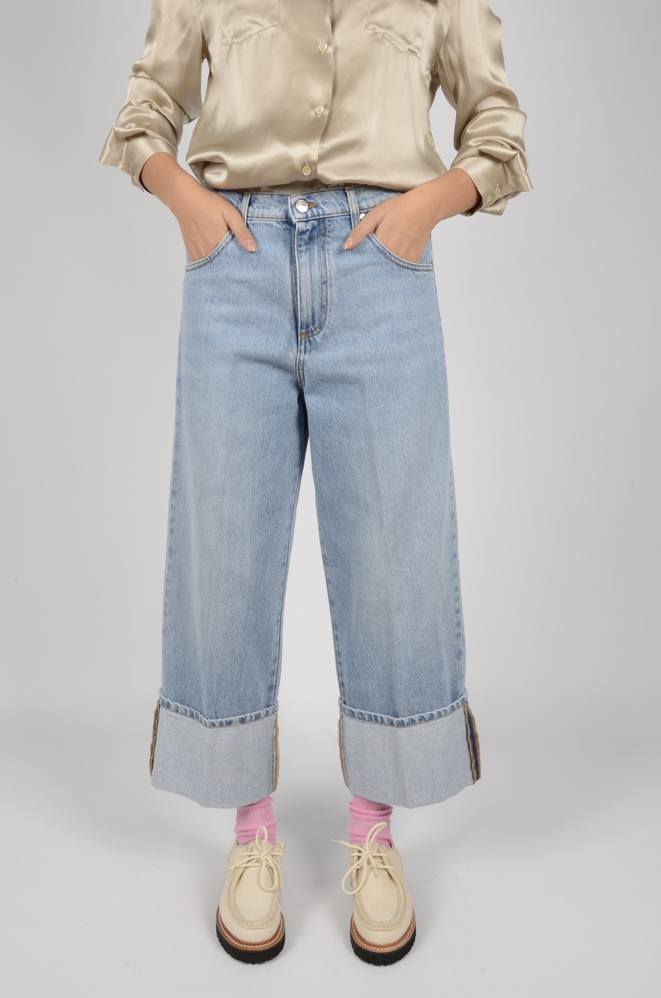 HIGH RISE CROPPED JEANS-2