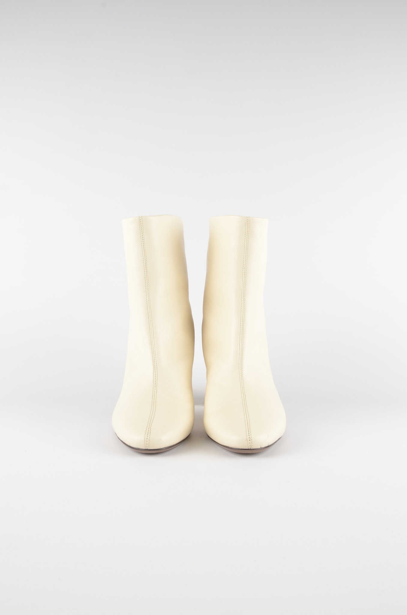 ANKLE BOOTS IN MILK-2