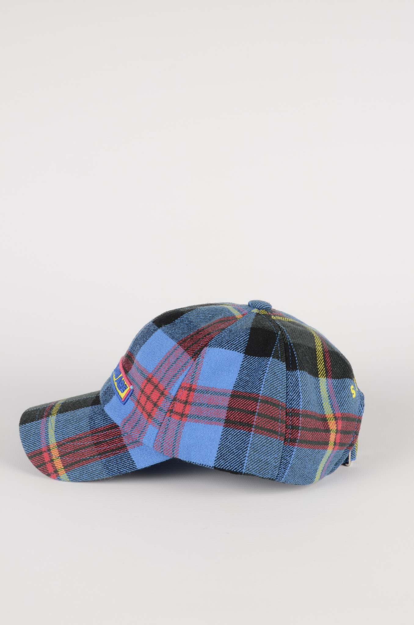 BLUE CHECKERED CAP-3