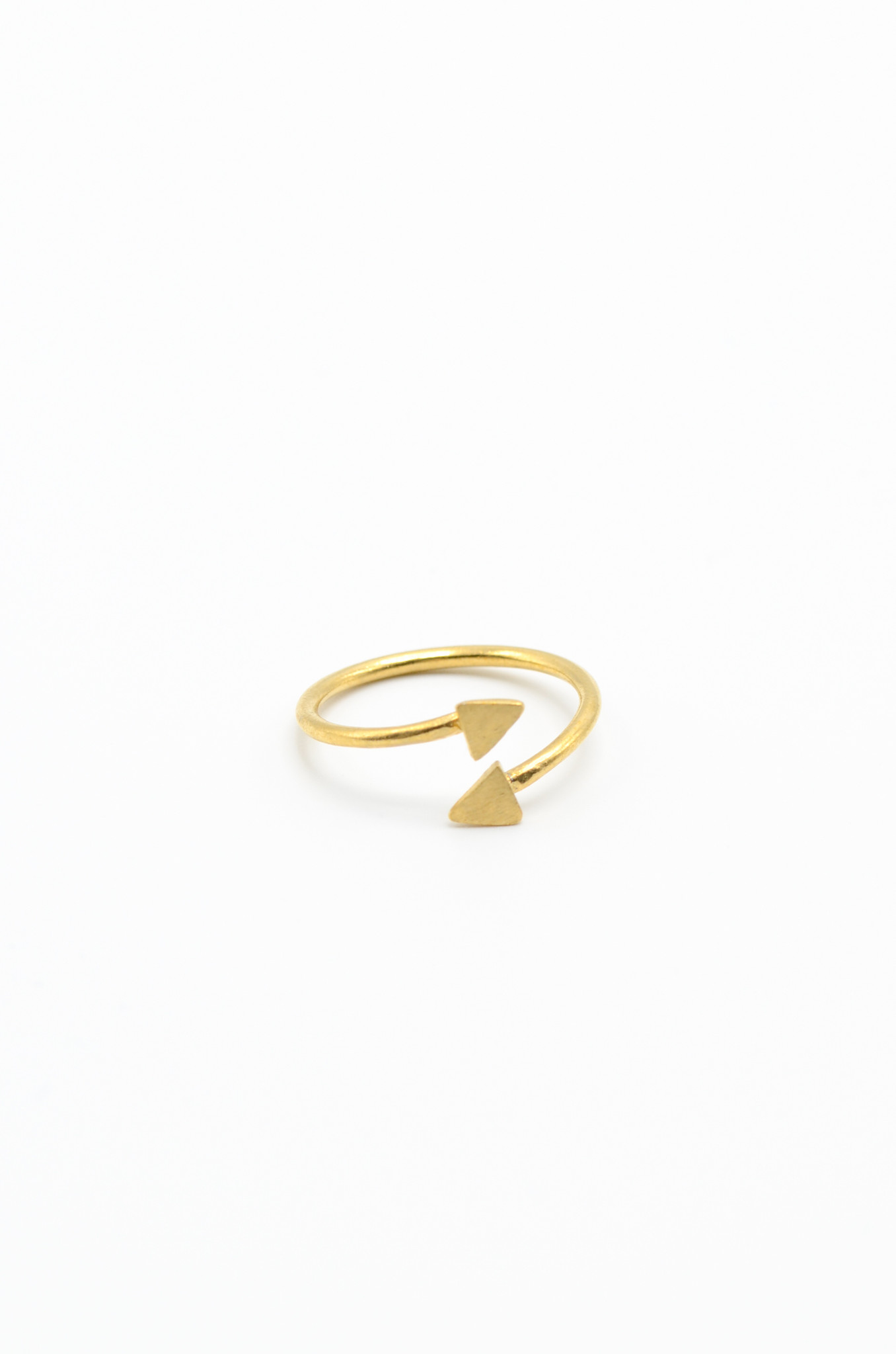 GOLDPLATED BRASS RING-1