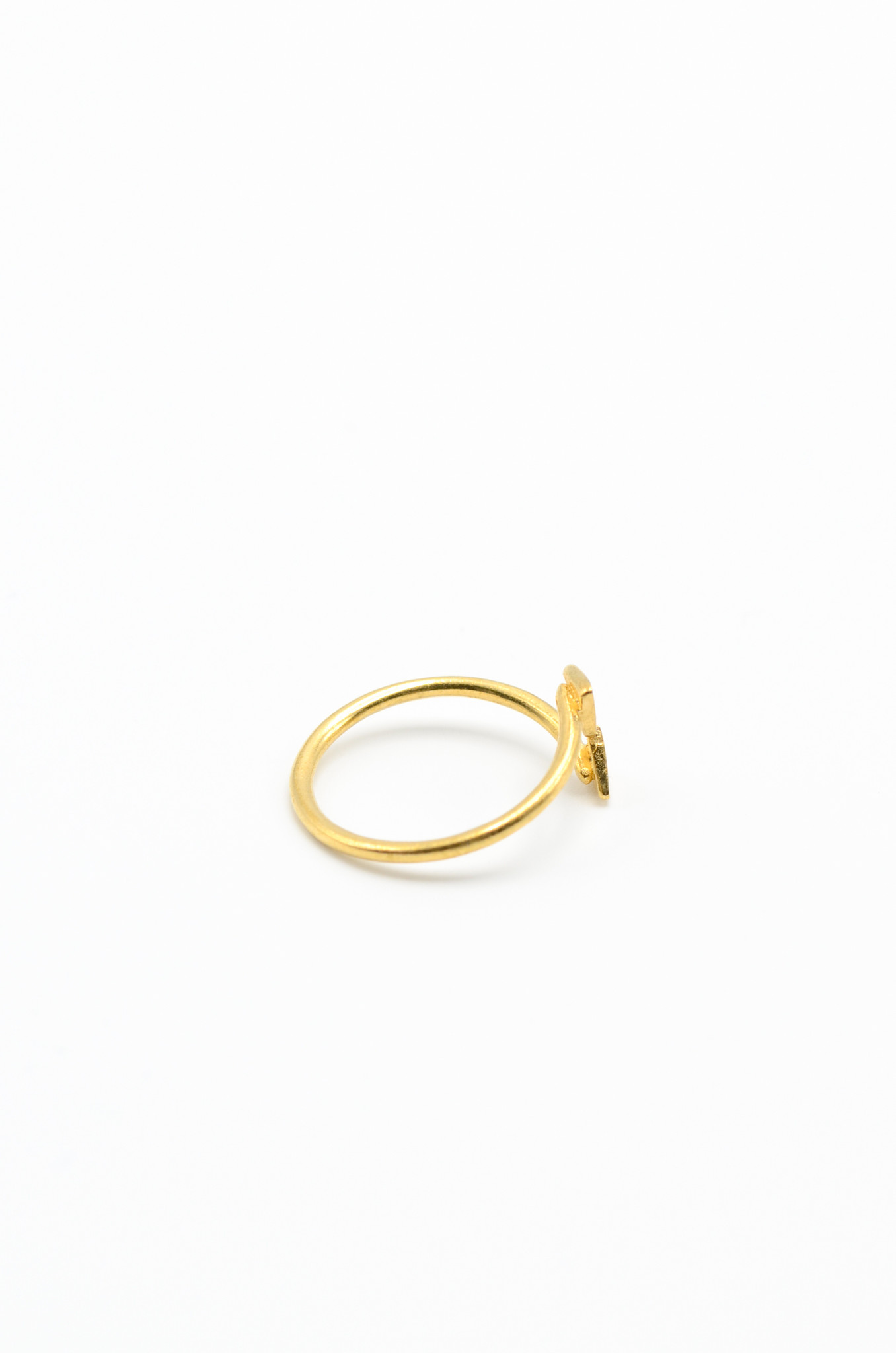 GOLDPLATED BRASS RING-2