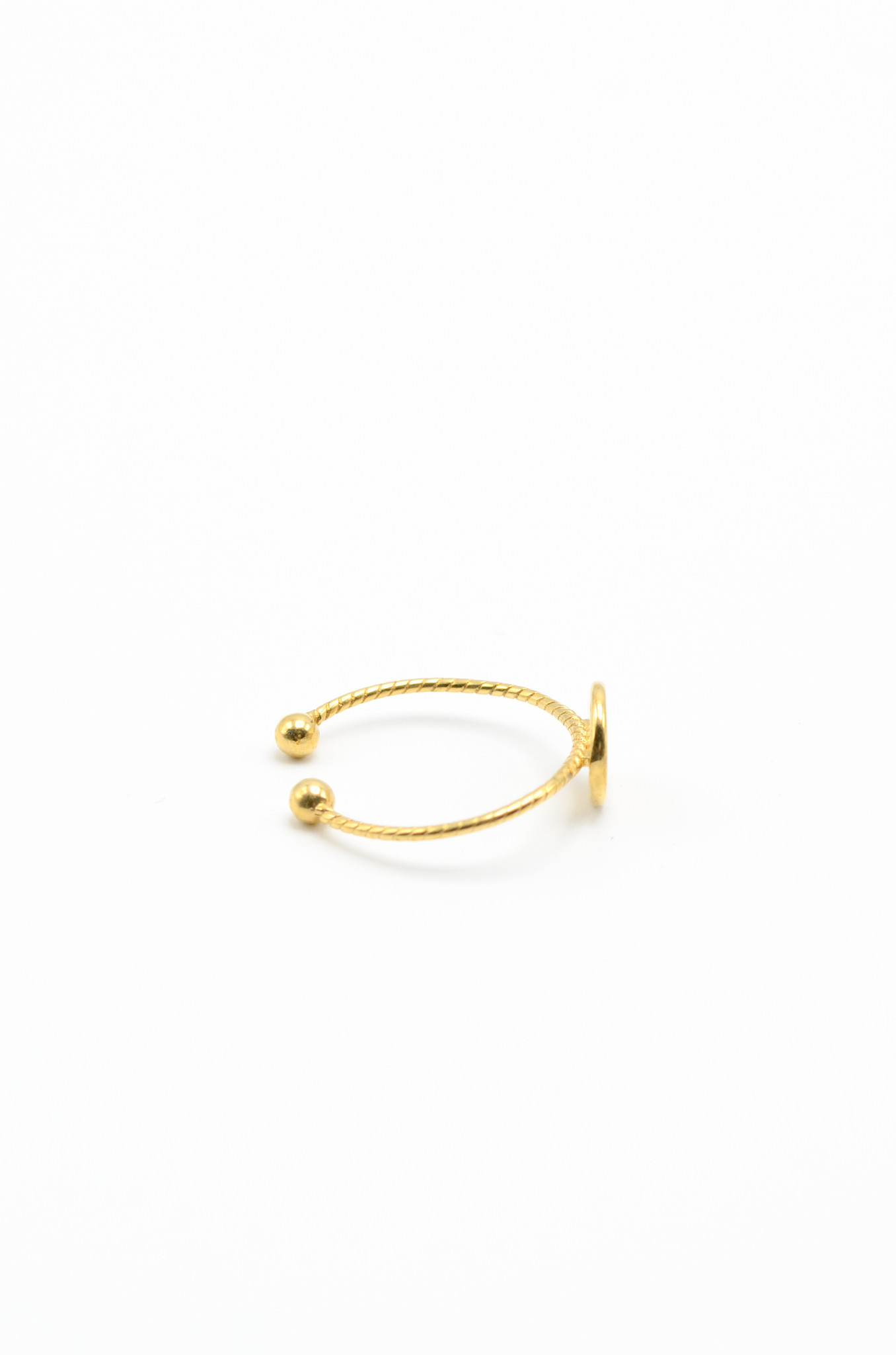 GOLDPLATED BRASS RING-4