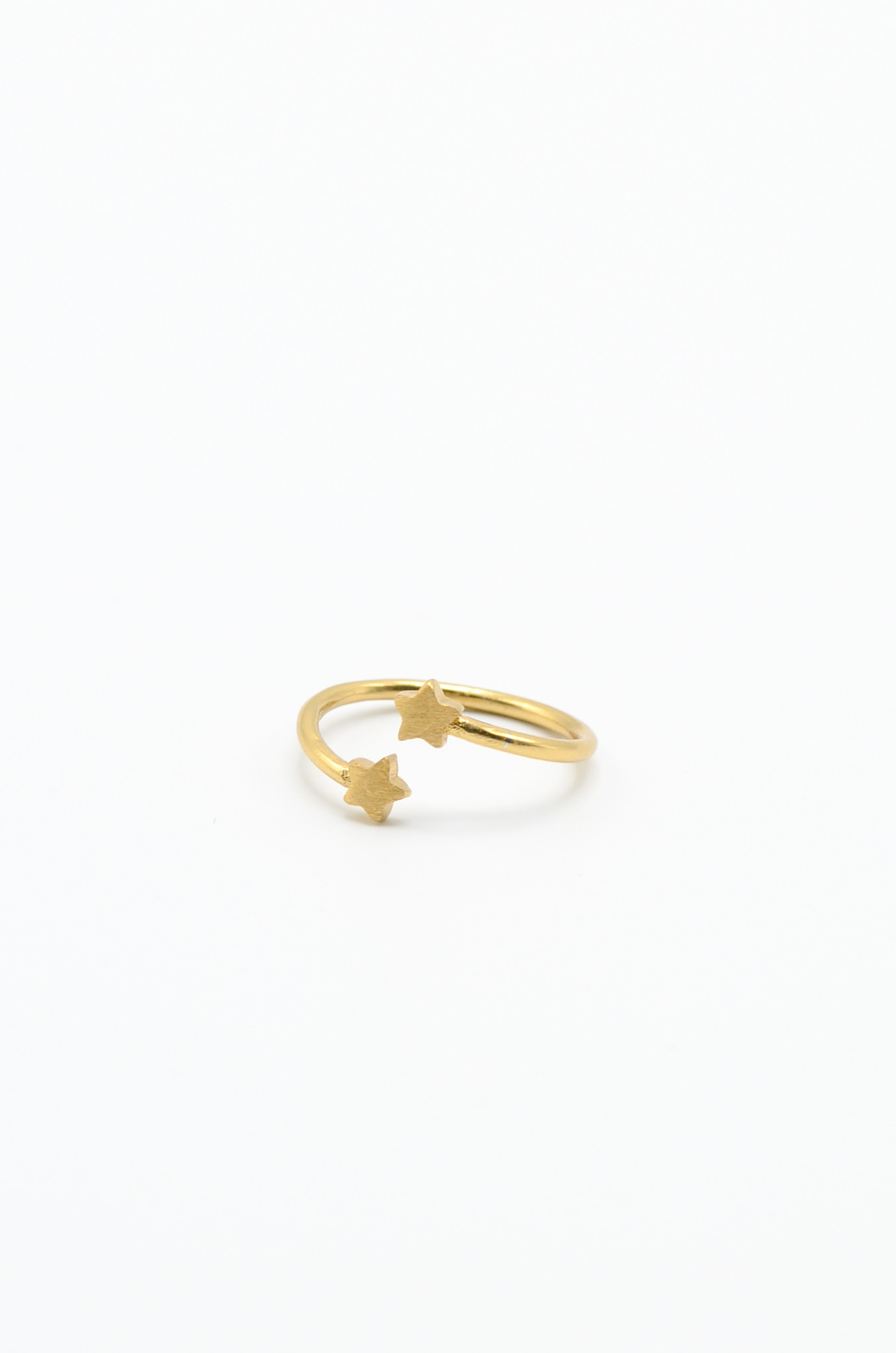 GOLDPLATED BRASS RING-5
