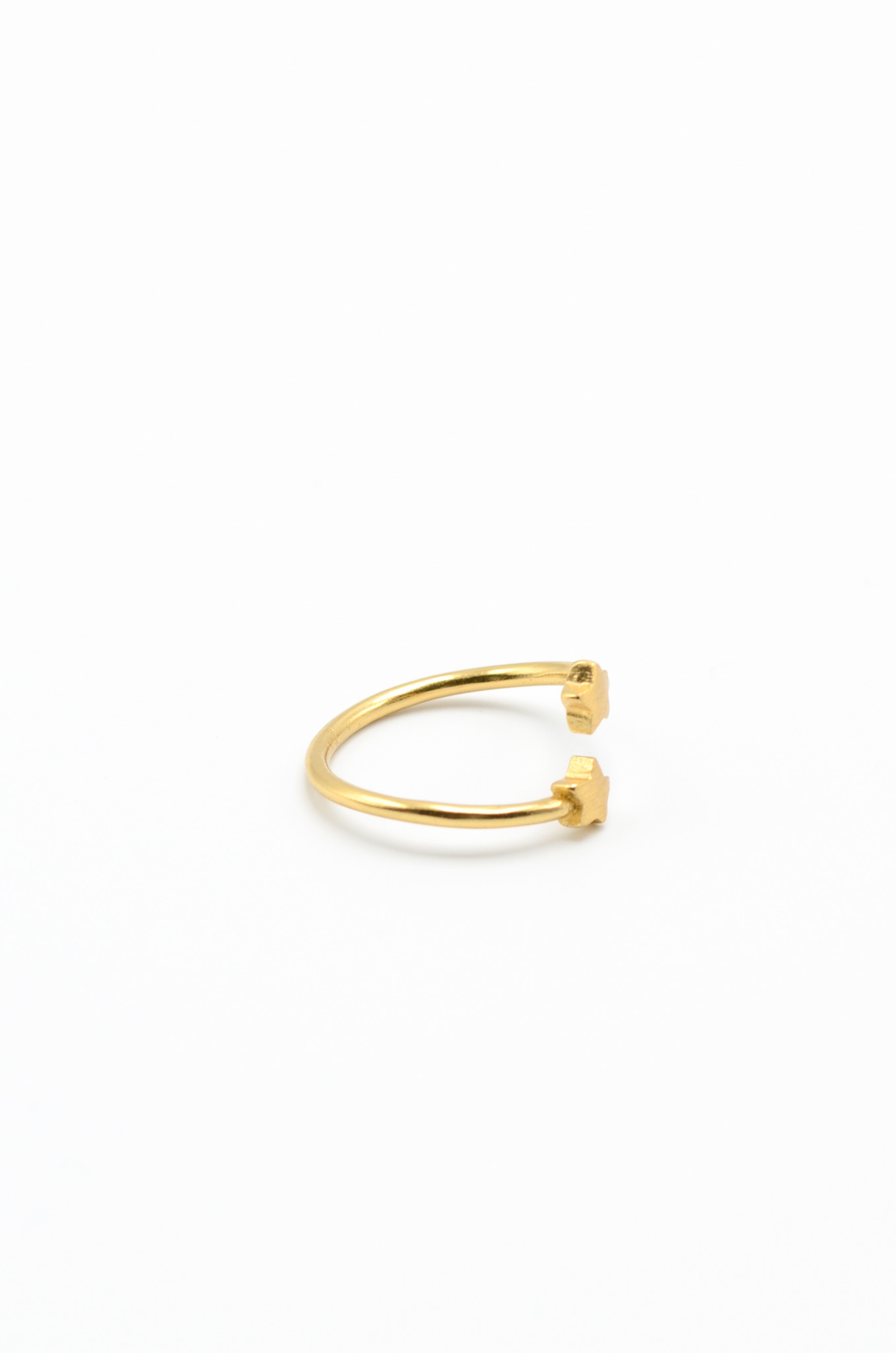 GOLDPLATED BRASS RING-6