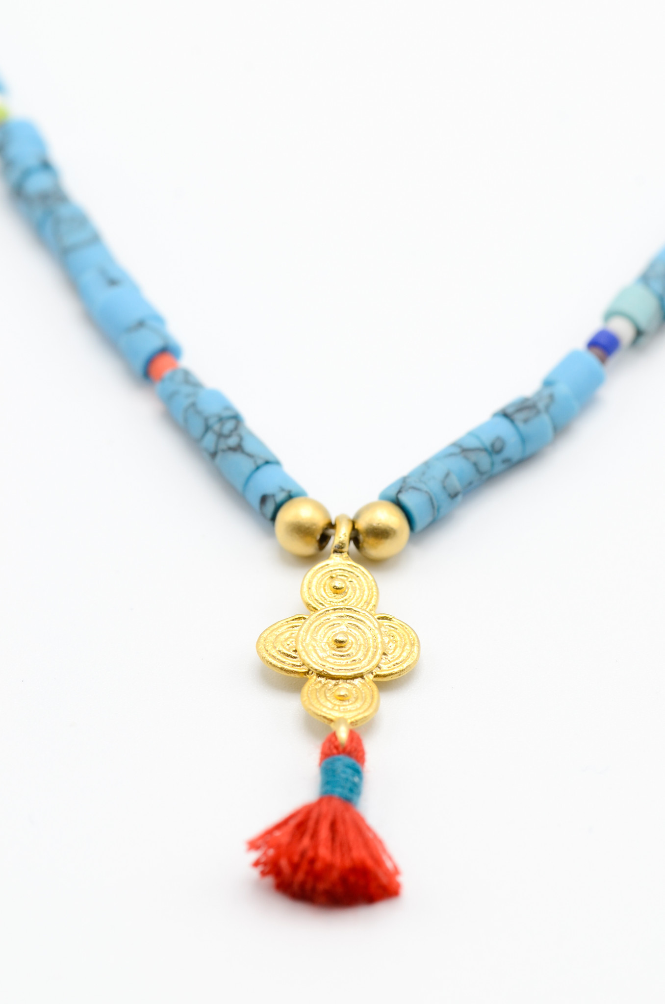 SURFBEAD NECKLACE TURQUOISE-1