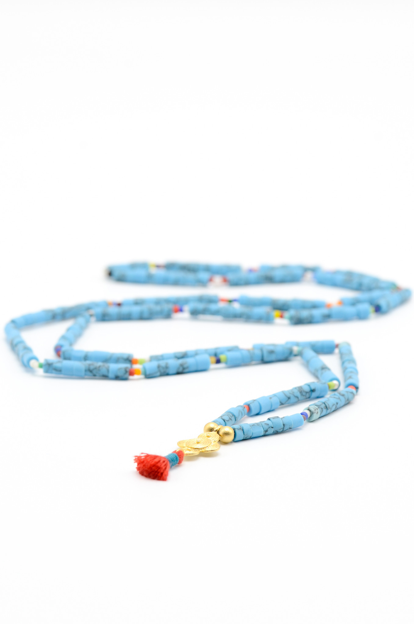 SURFBEAD NECKLACE TURQUOISE-2