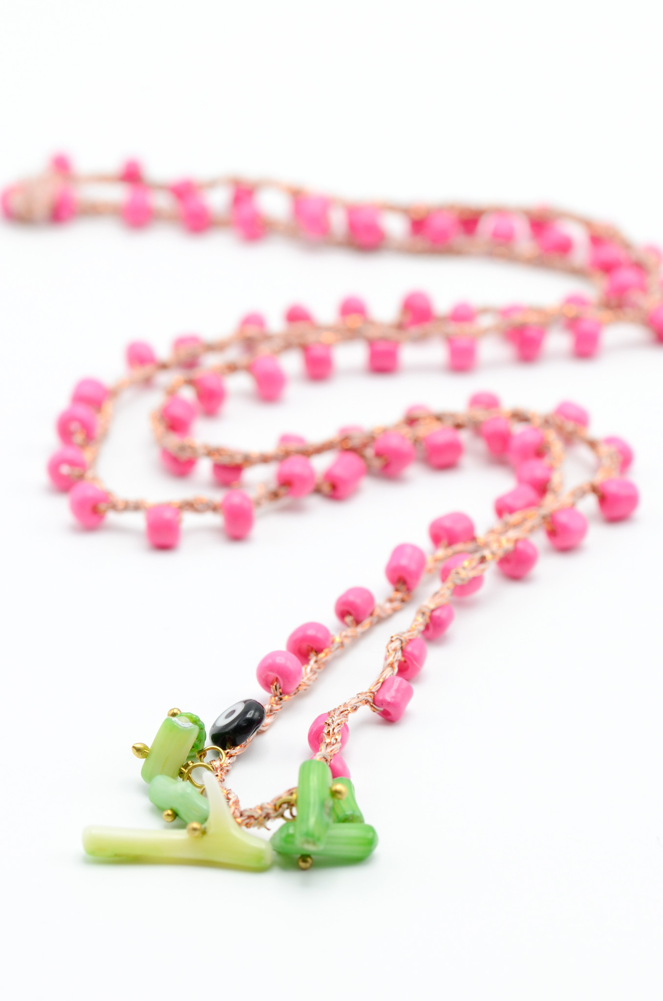 CROCHETED NECKLACE-1