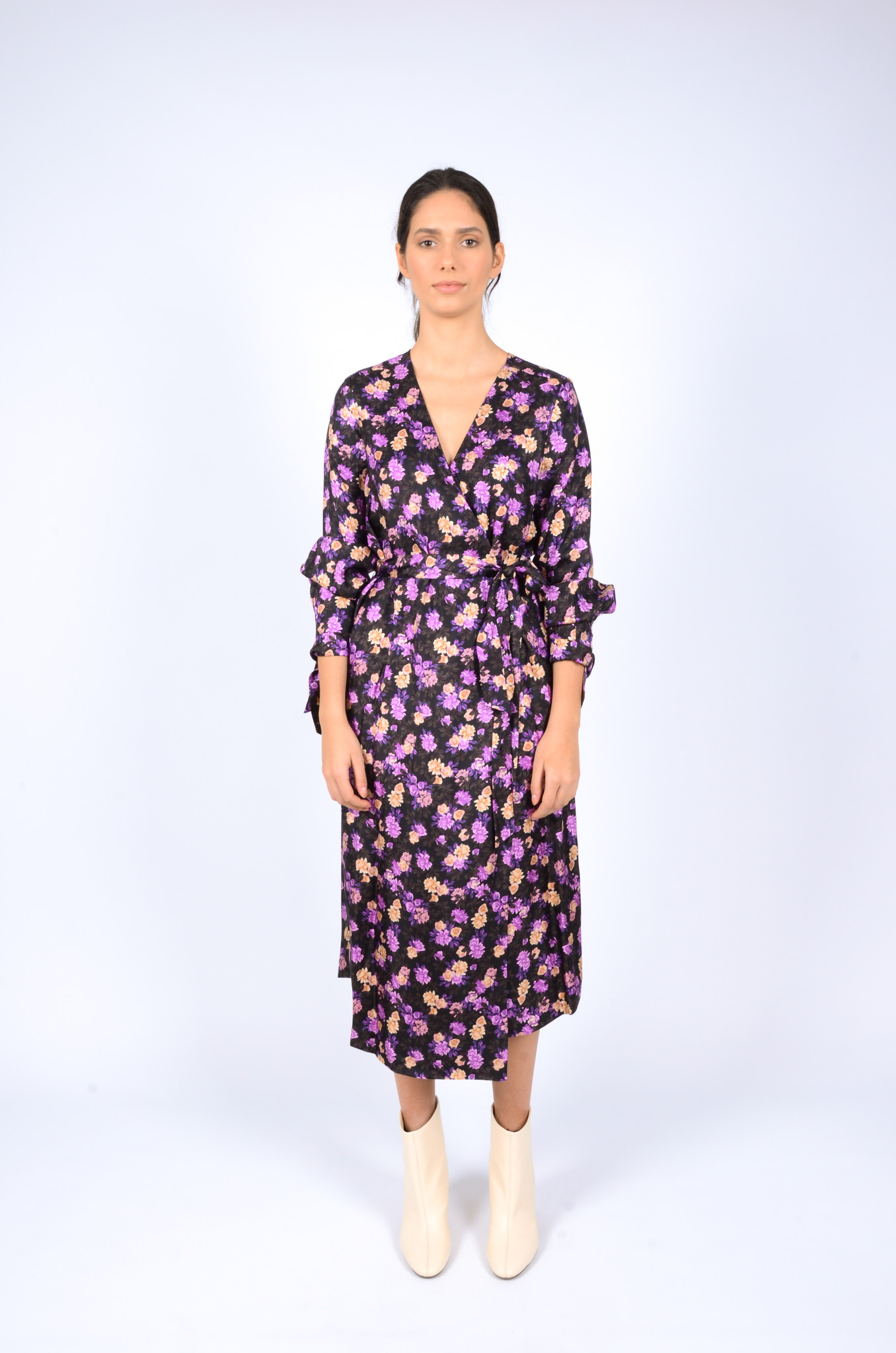 AJANA SILK DRESS-1