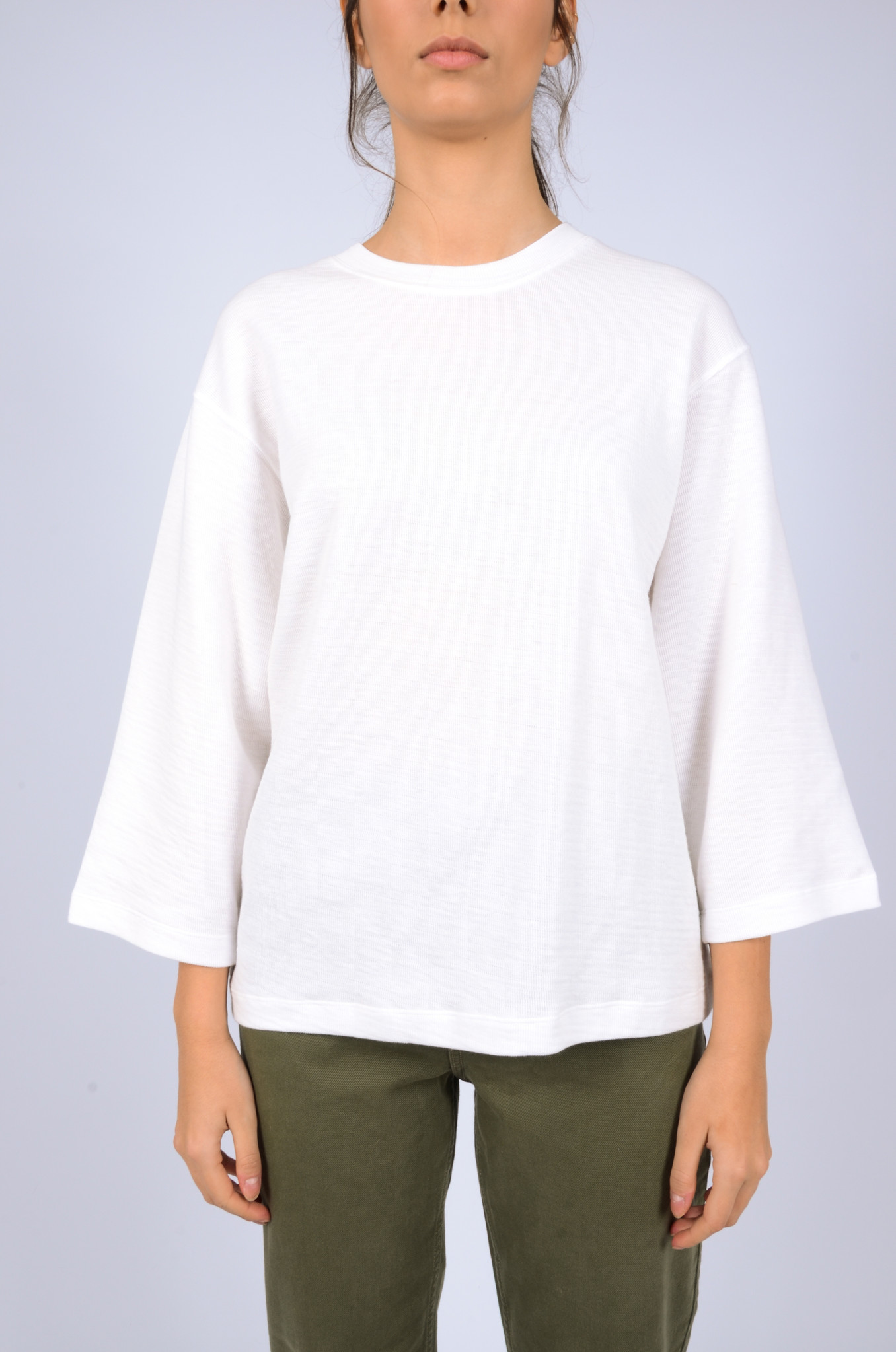 STRUCTURED LONGSLEEVE TEE-1