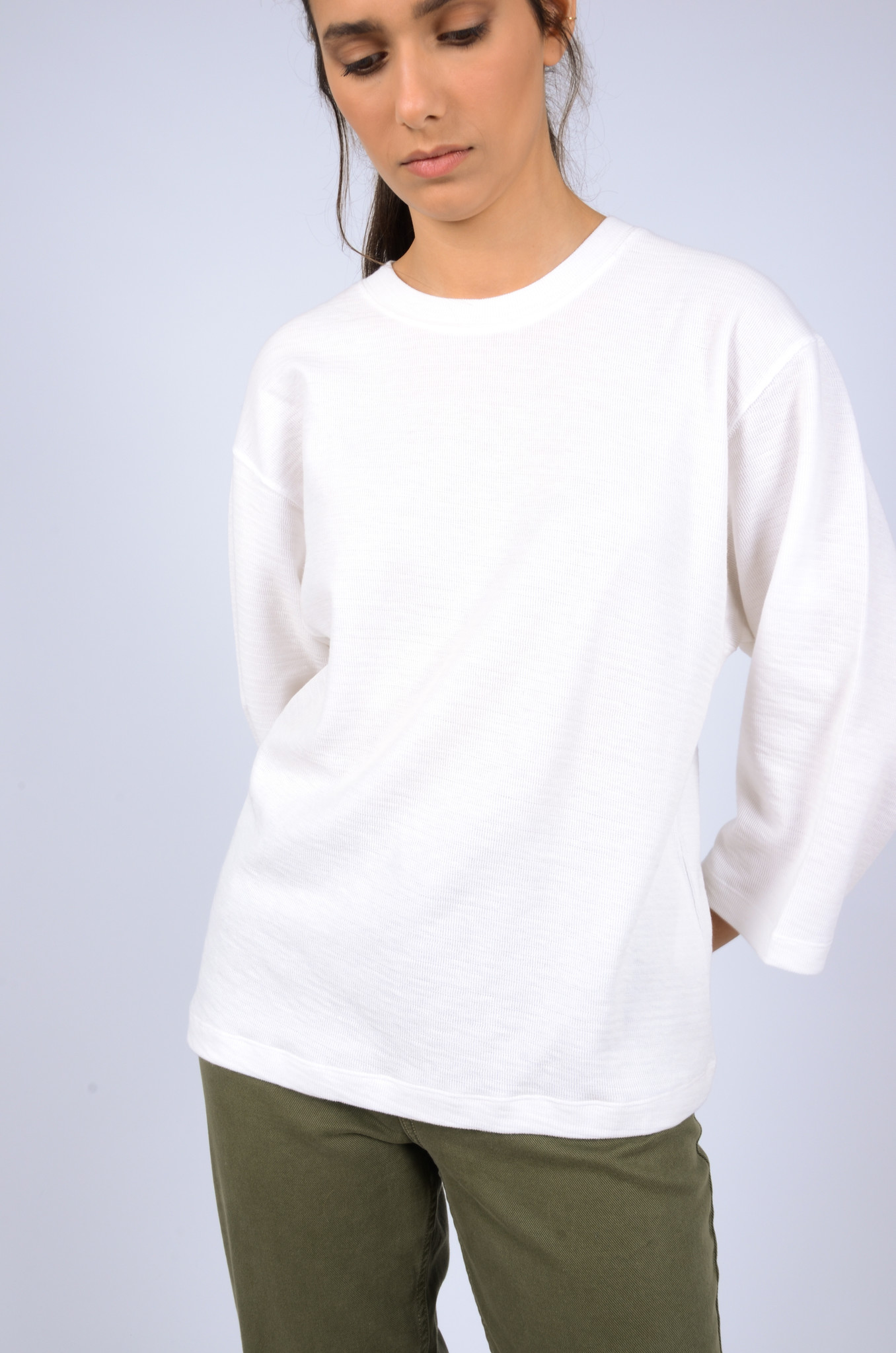 STRUCTURED LONGSLEEVE TEE-5