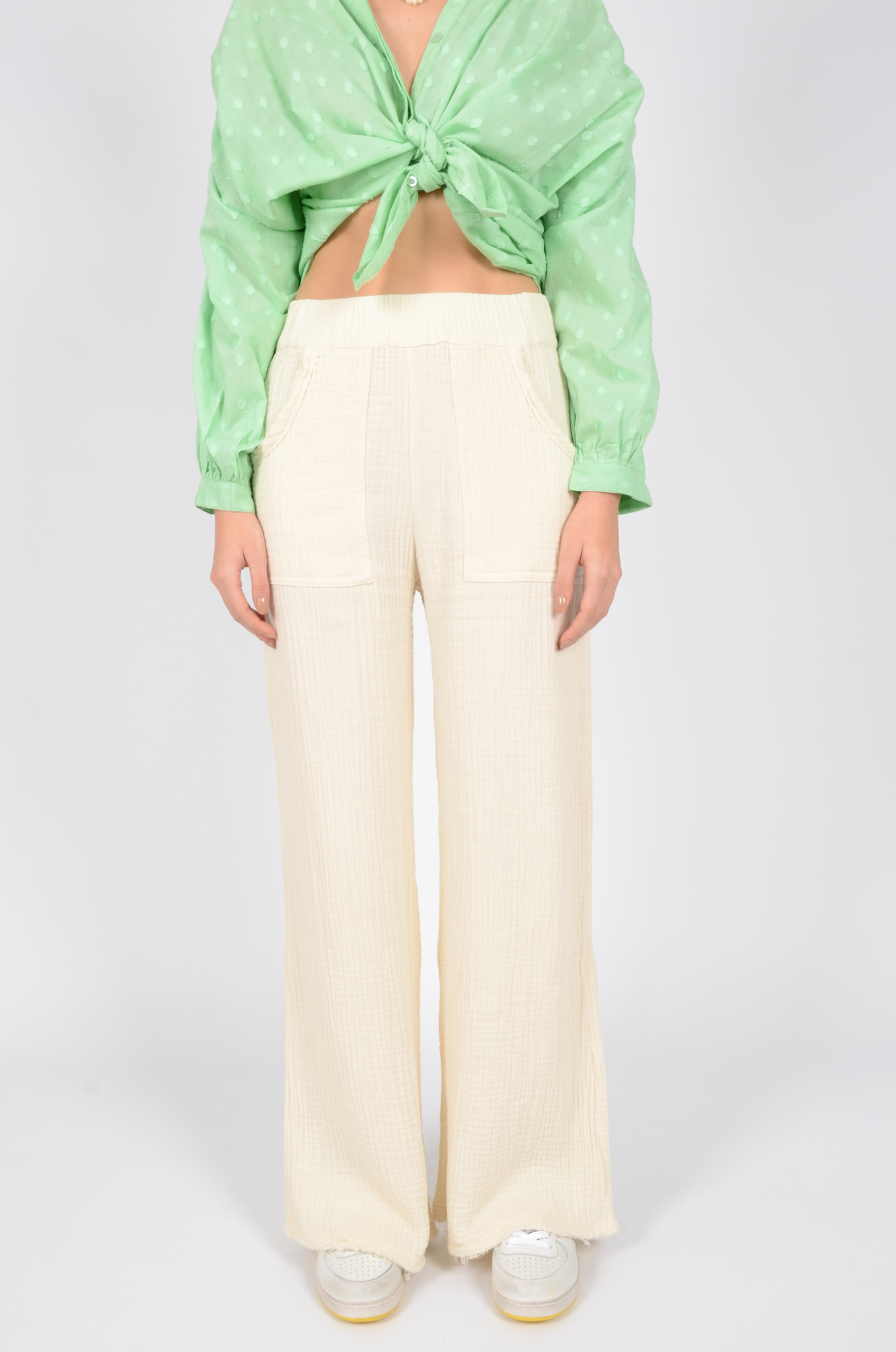 DATAI PANTS  IN BUTTER-2