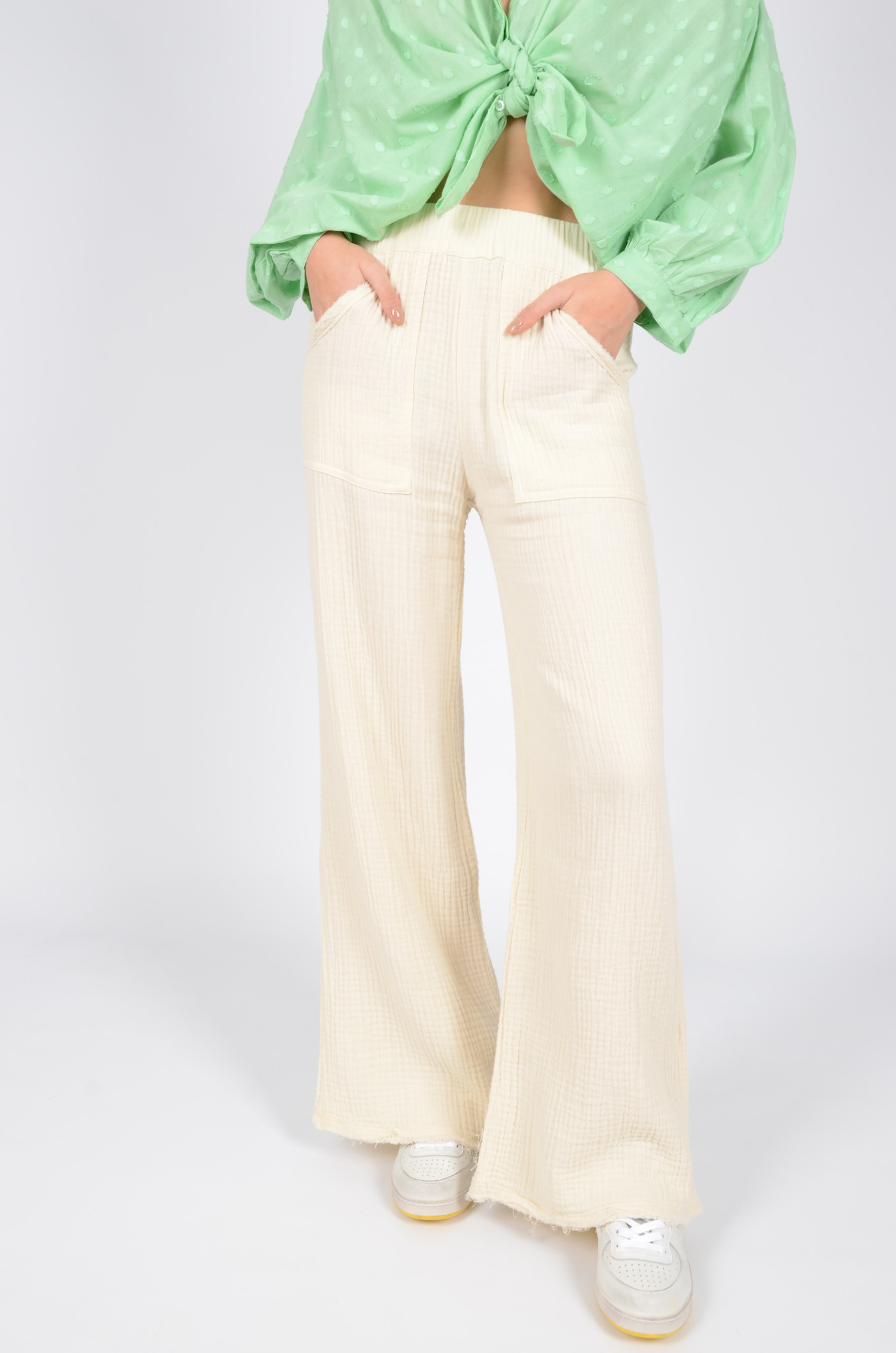 DATAI PANTS  IN BUTTER-1