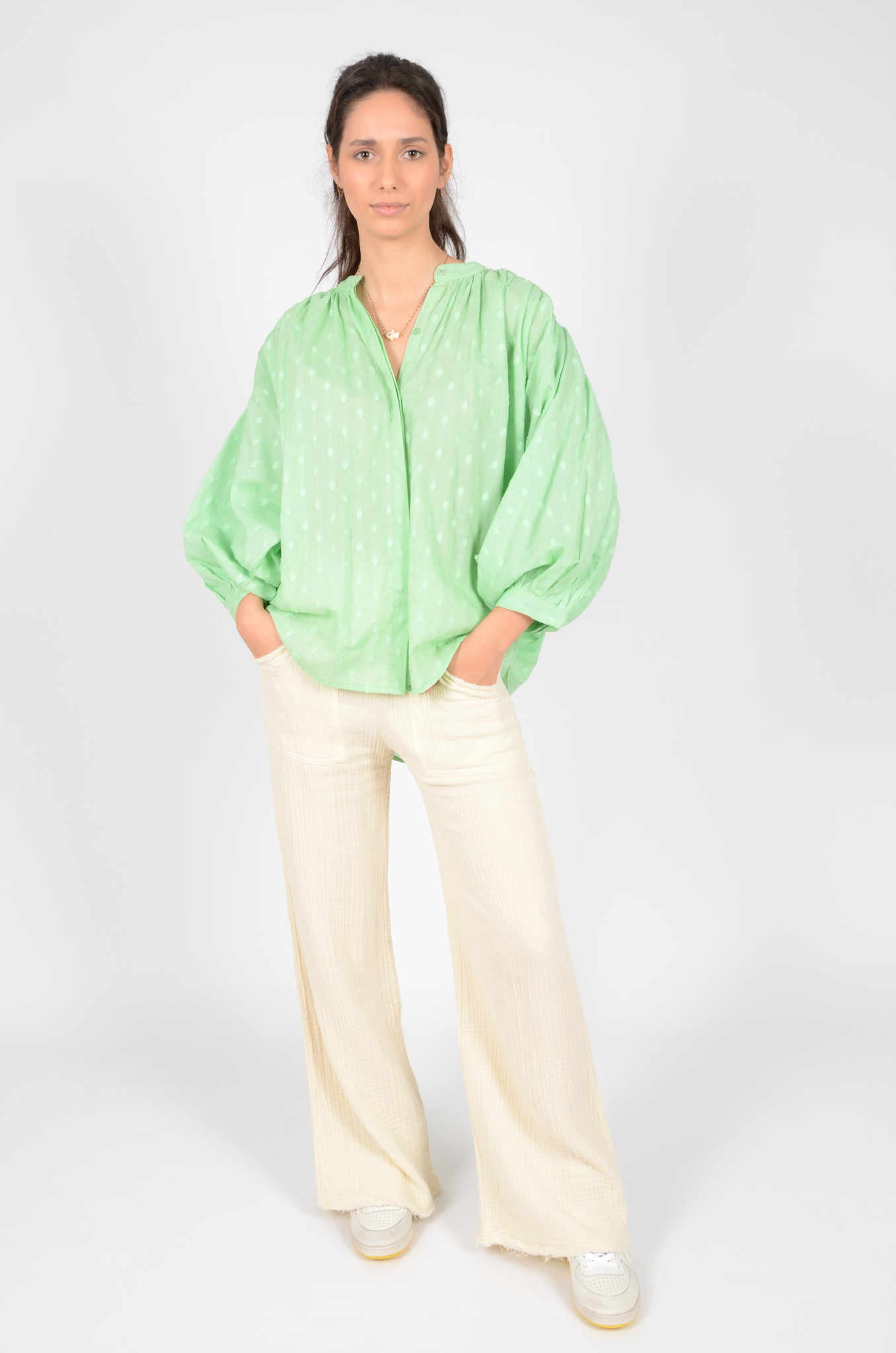 DATAI PANTS  IN BUTTER-6