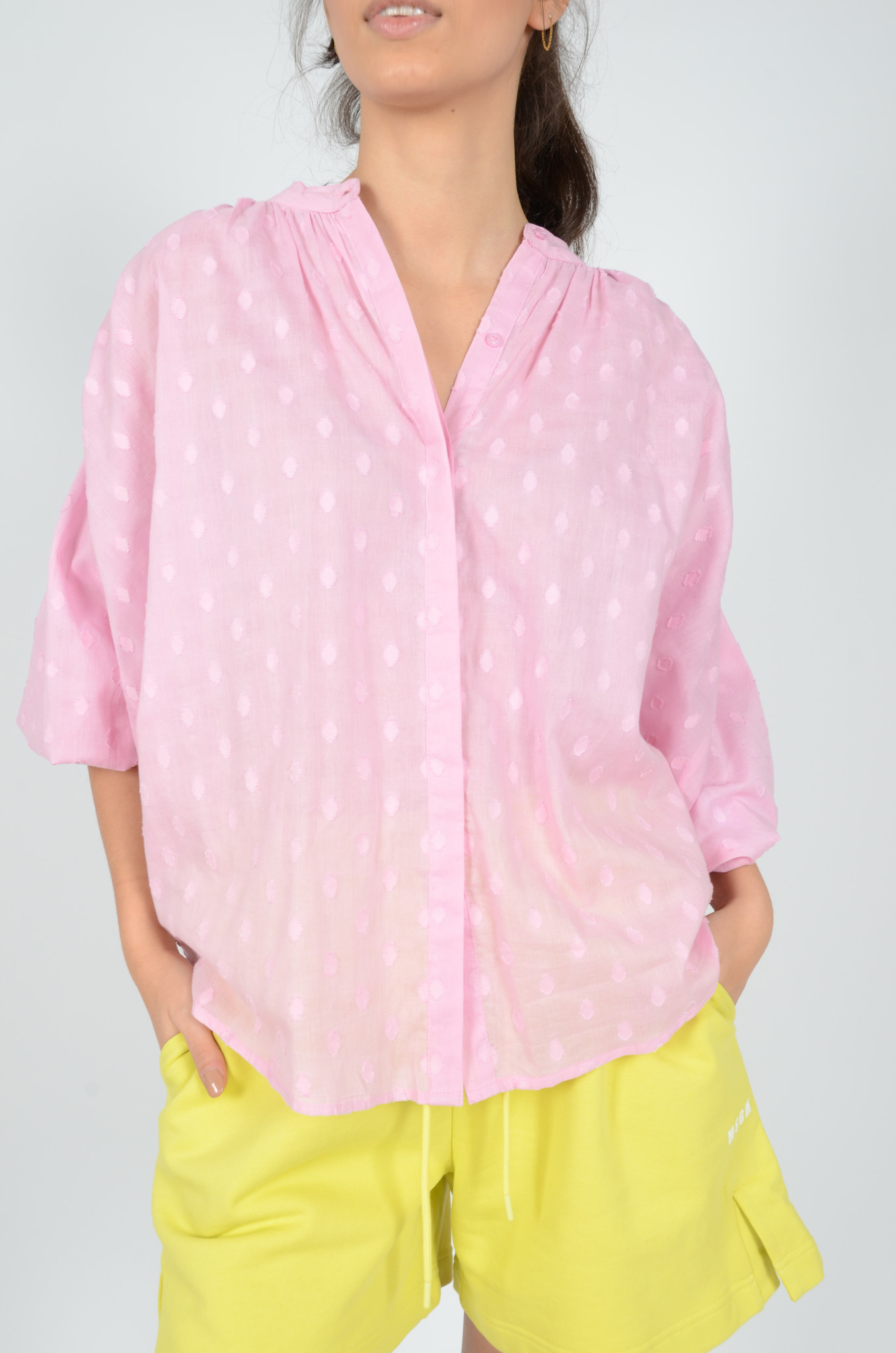 BALLOON BLOUSE IN LILAC-2